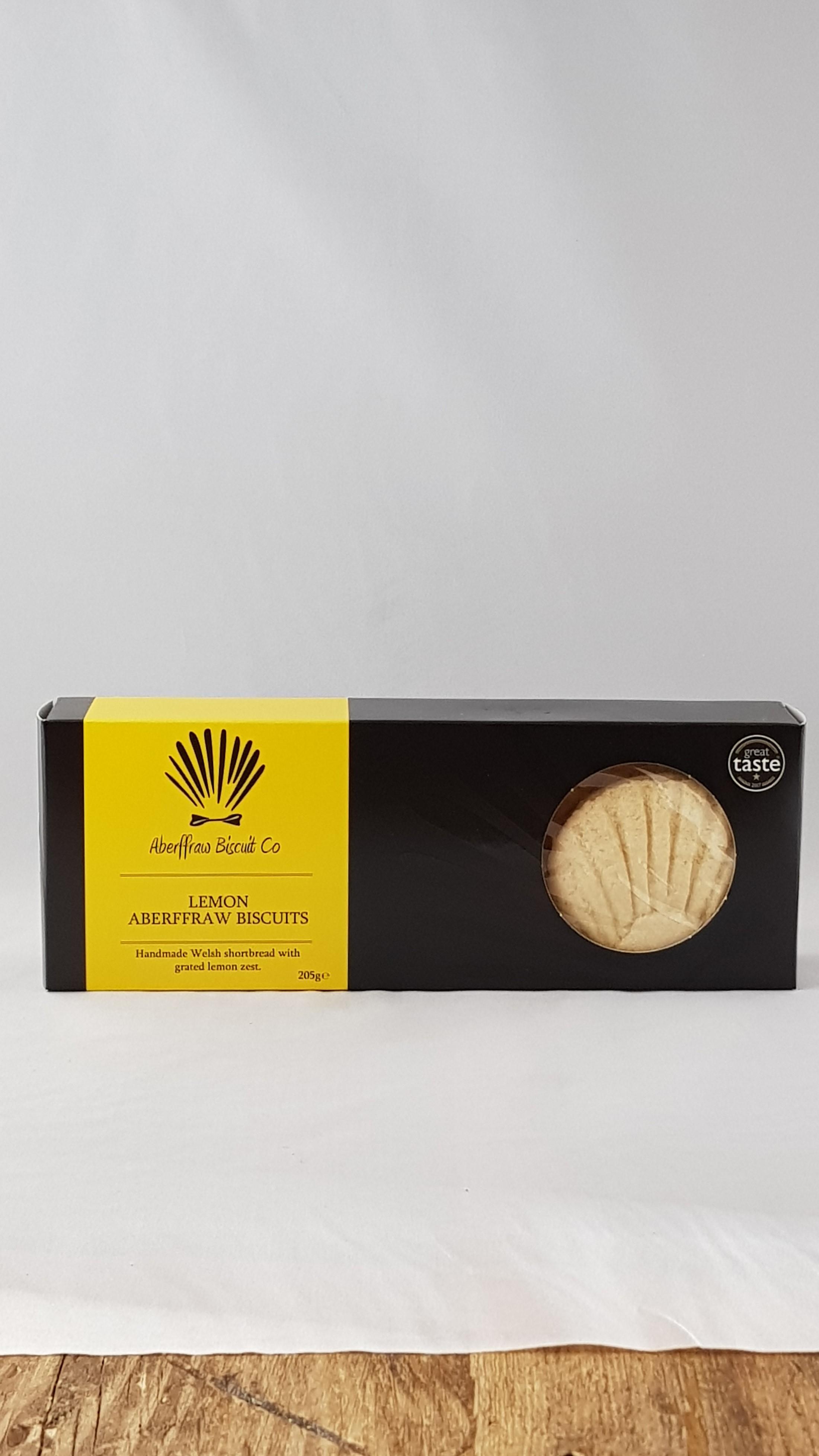 Aberffraw Lemon Biscuits