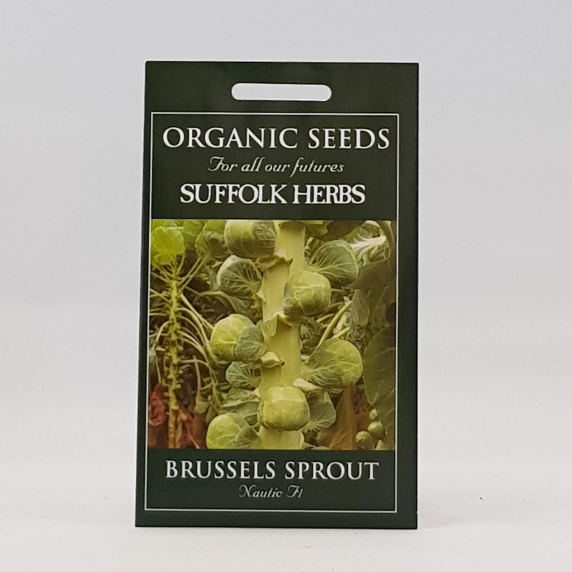 Brussels Sprouts Nautic F1 Seeds, Organic