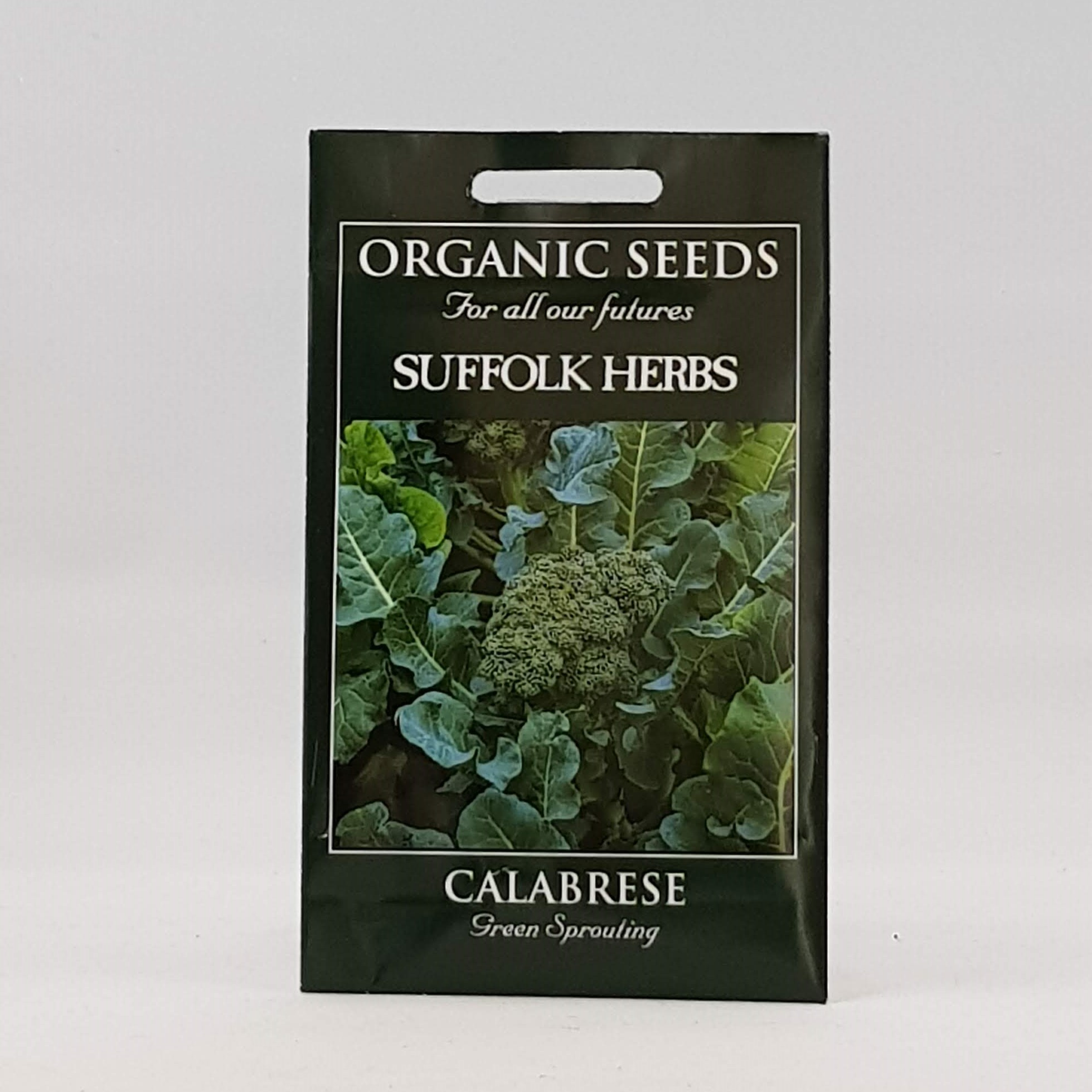 Calabrese Green Sprouting Seeds, Organic
