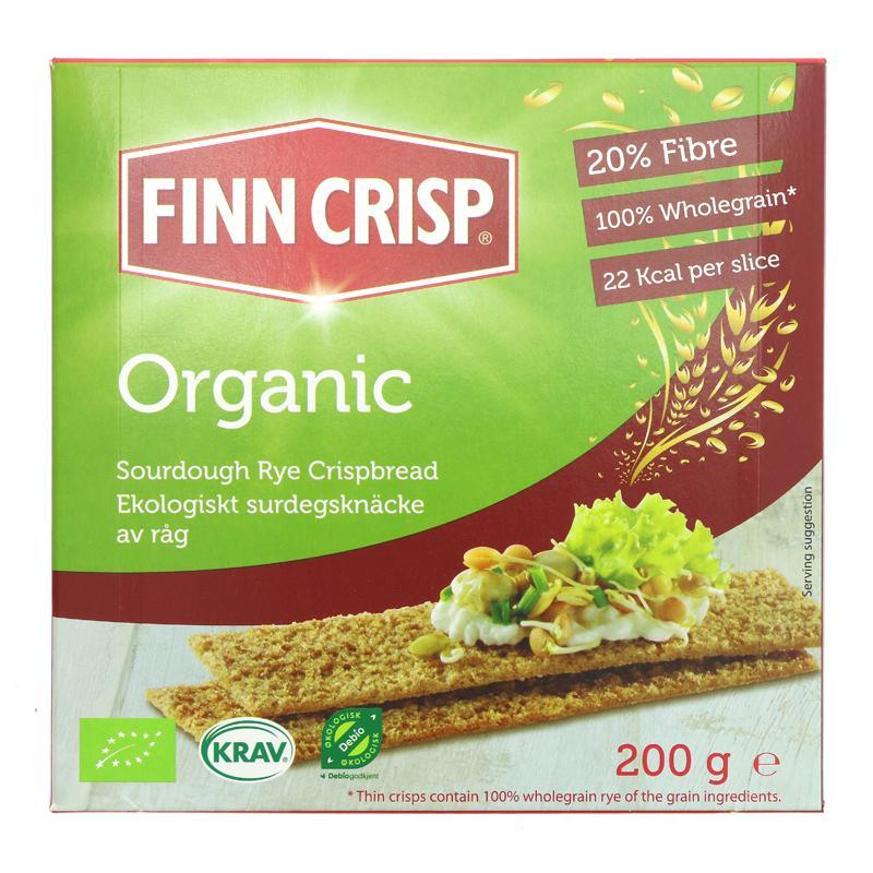 Finn Crispbreads Rye Organic