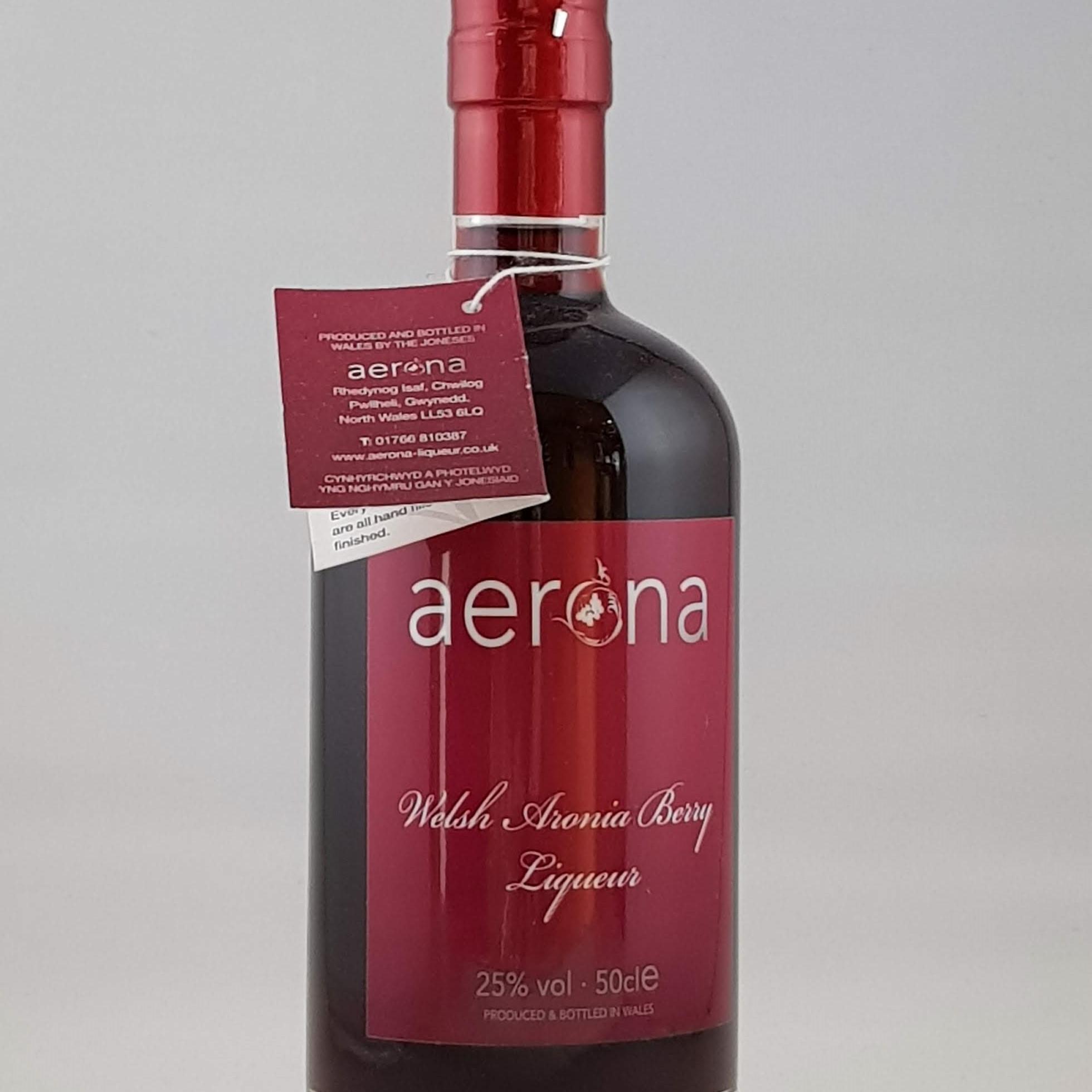 Aerona Liqueur Welsh Aronia Berry