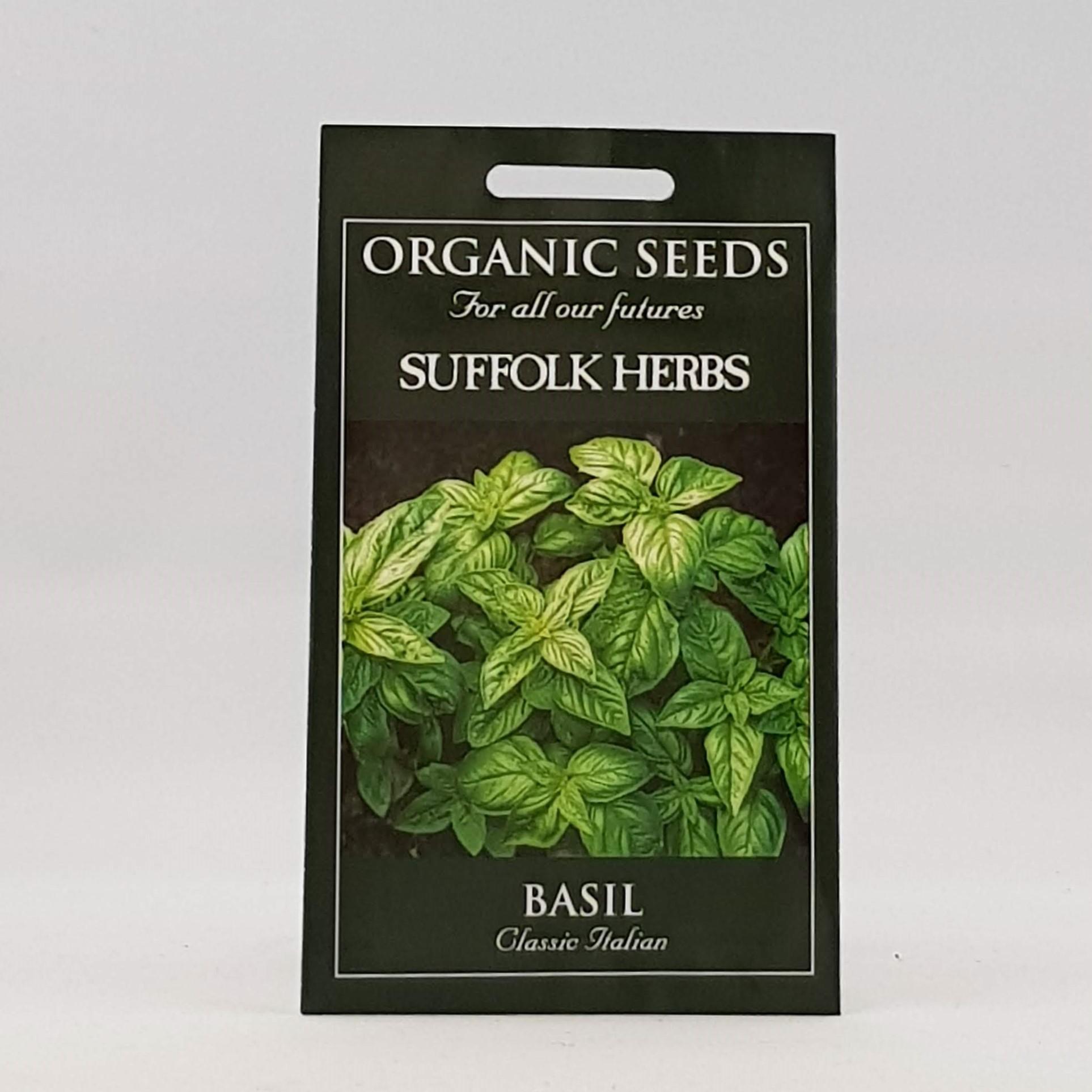 Basil Classic Italian Seeds, Organic