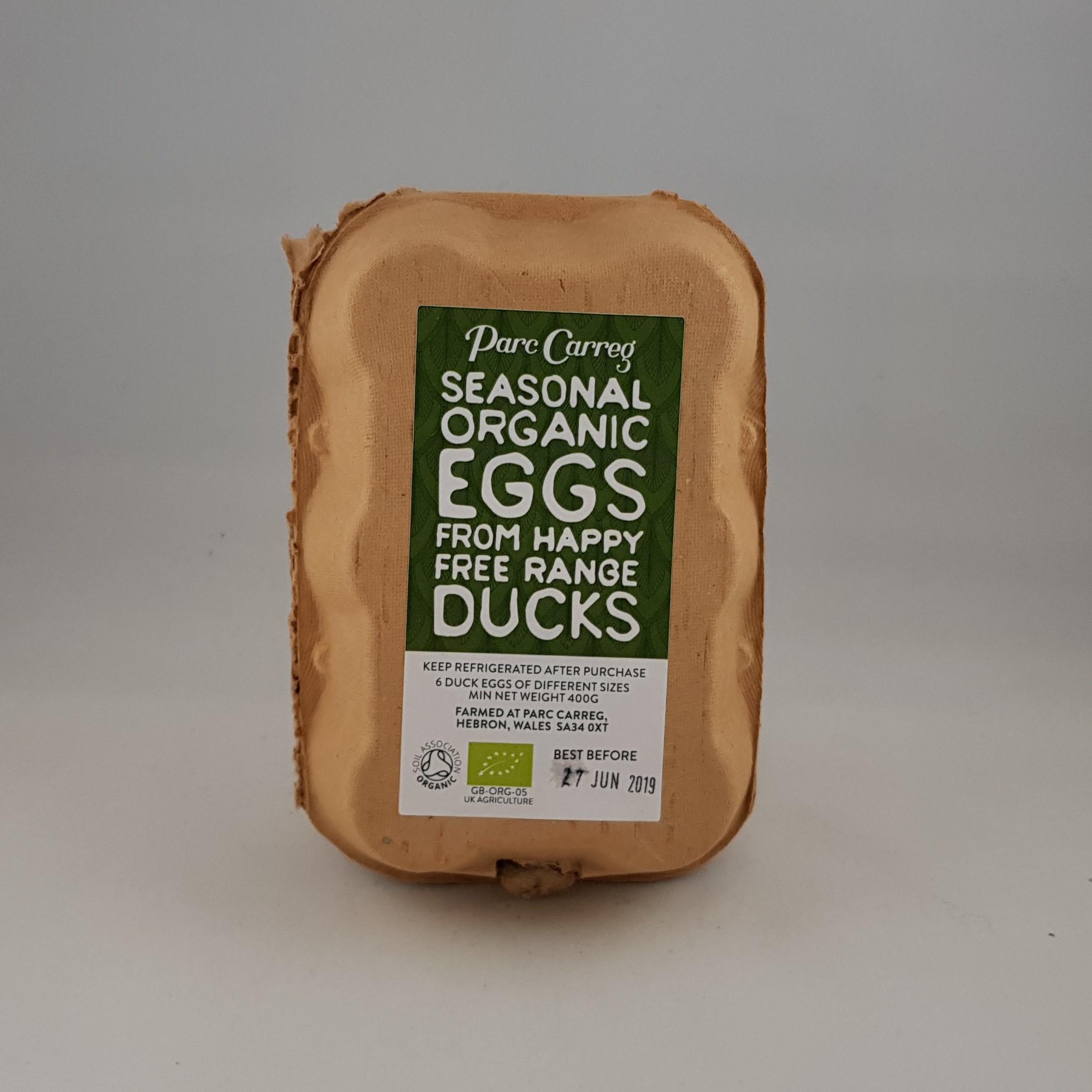 Parc Carreg 6 Duck Eggs
