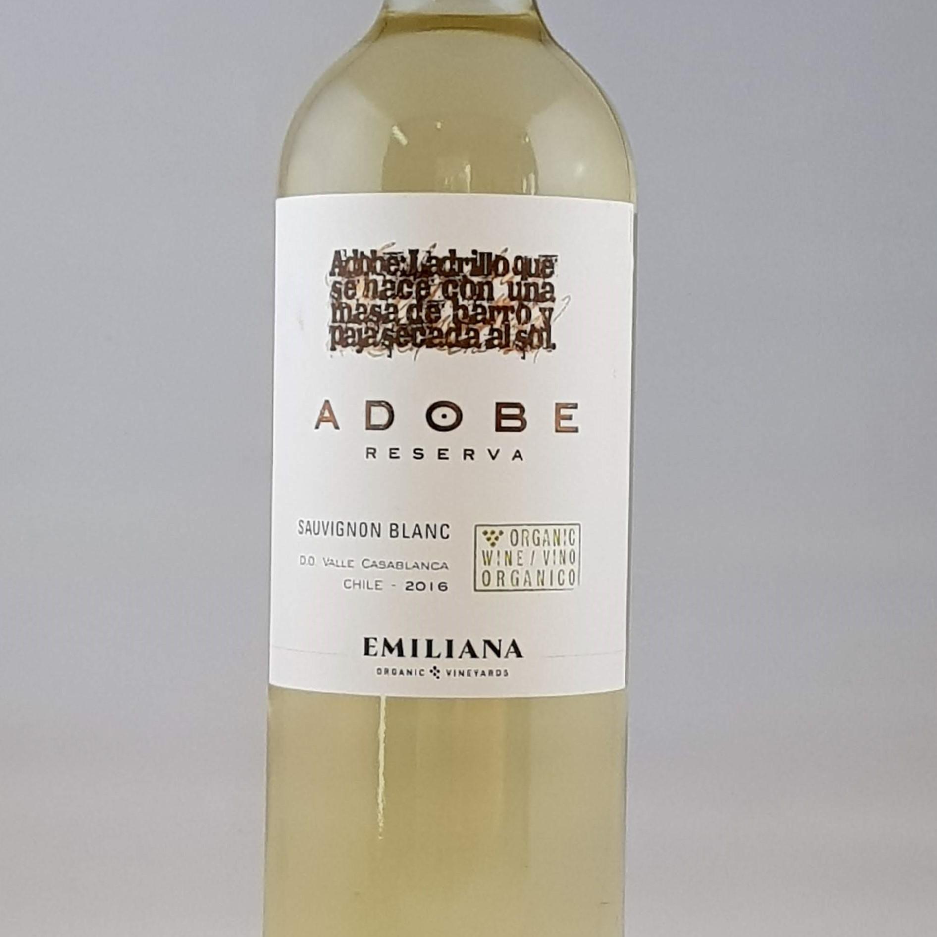 Adobe Sauvignon Blanc Reserva Wine