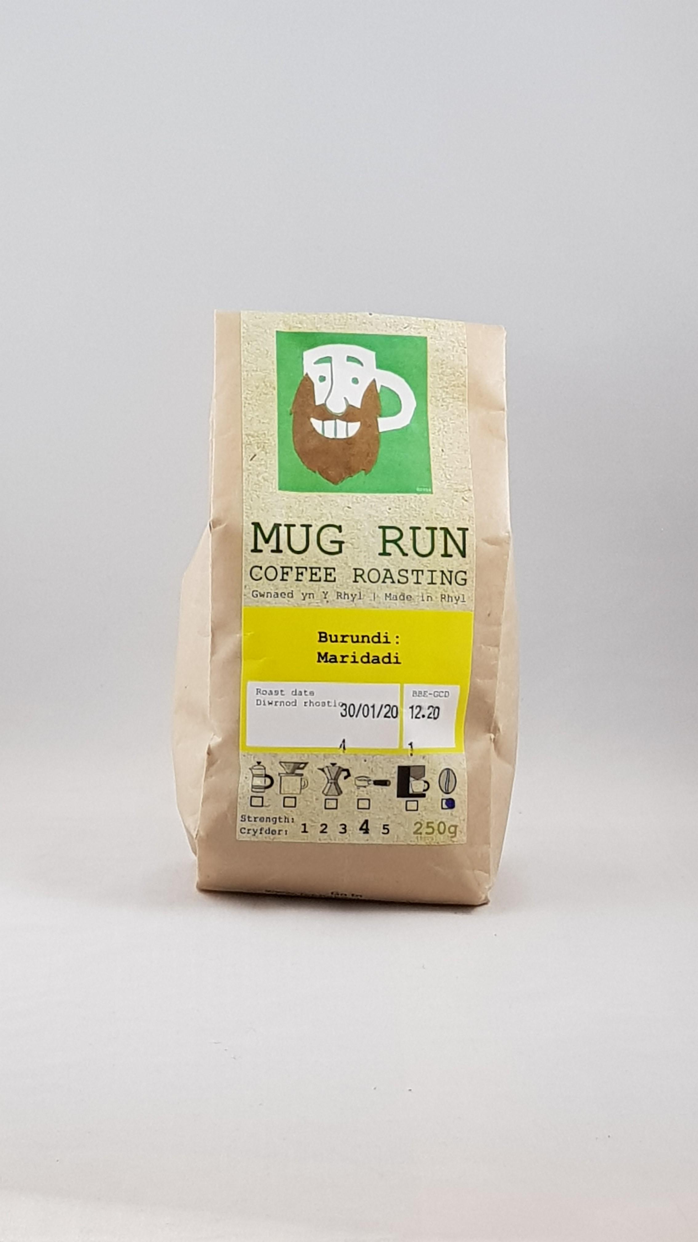 Mug Run Coffee Burundi Maridadi