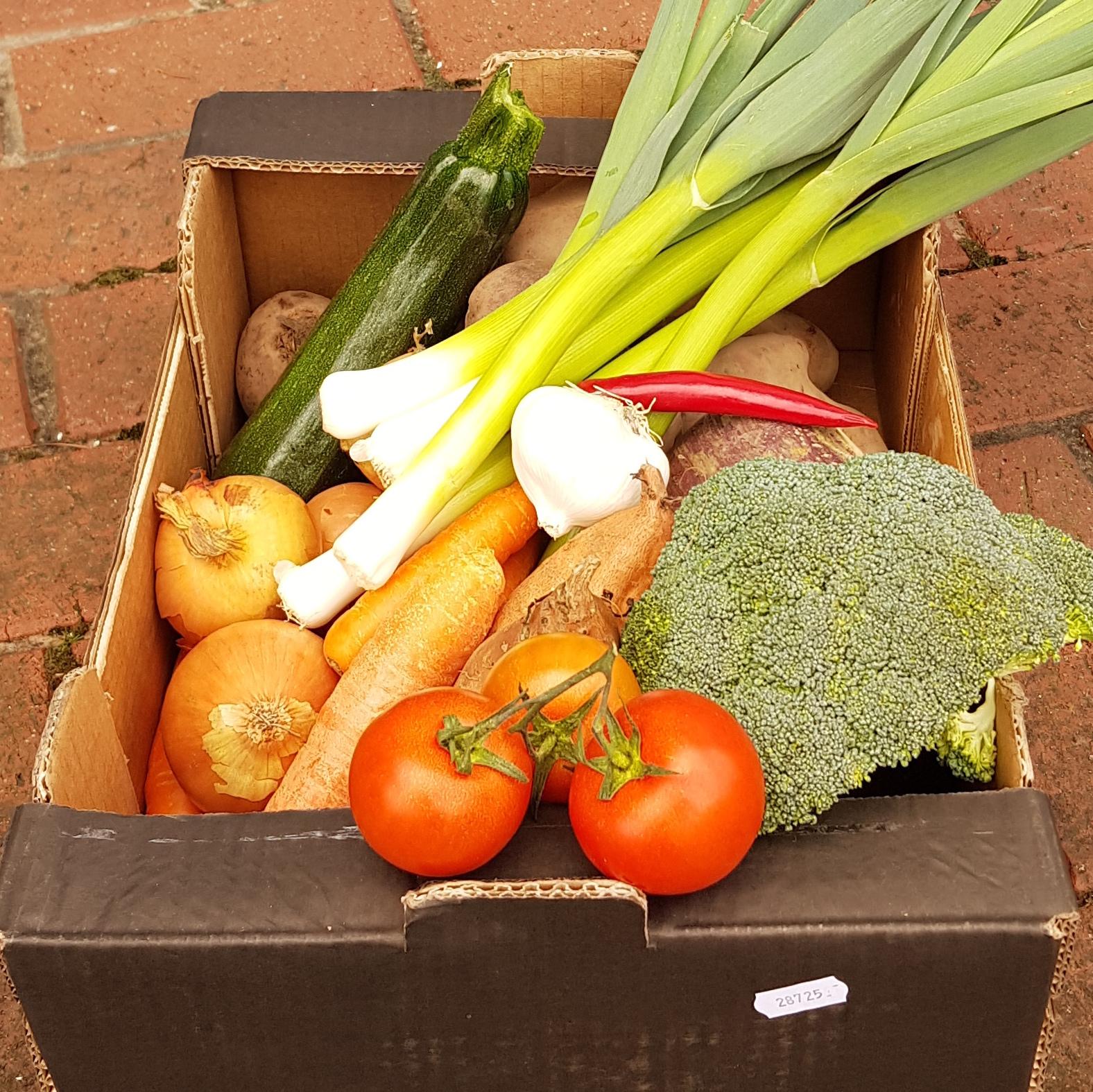 Local & Organic Veg Box