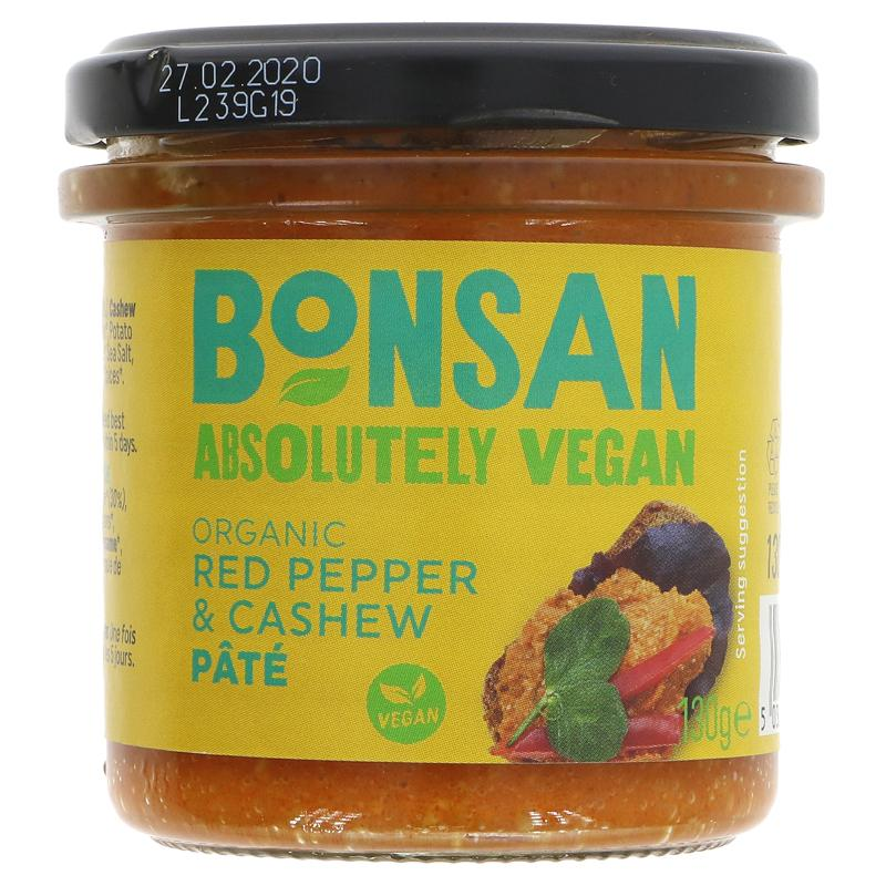 Bonsan Cashew & Bell Pepper Pate