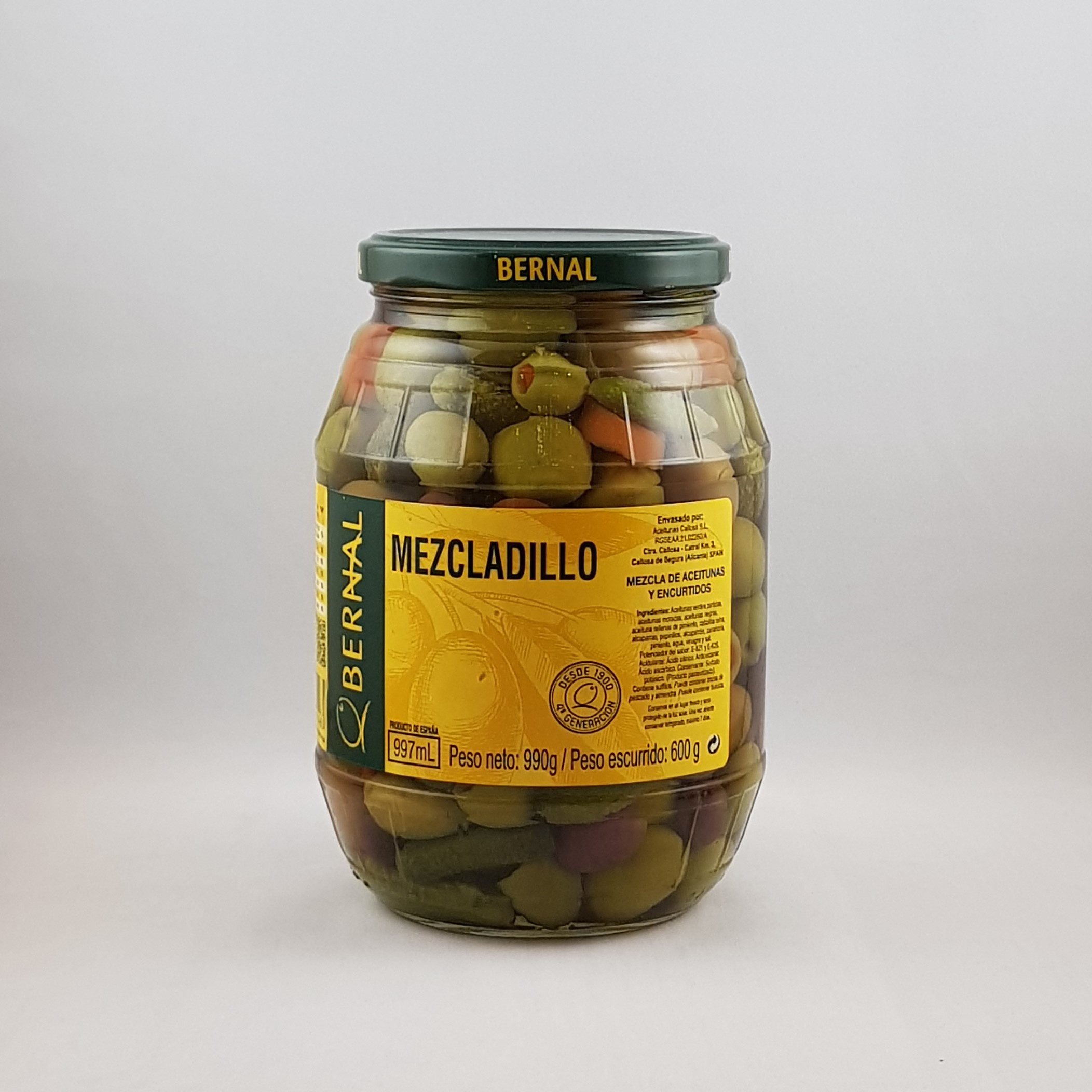 Bernal Mezcladillo Mixed Olives