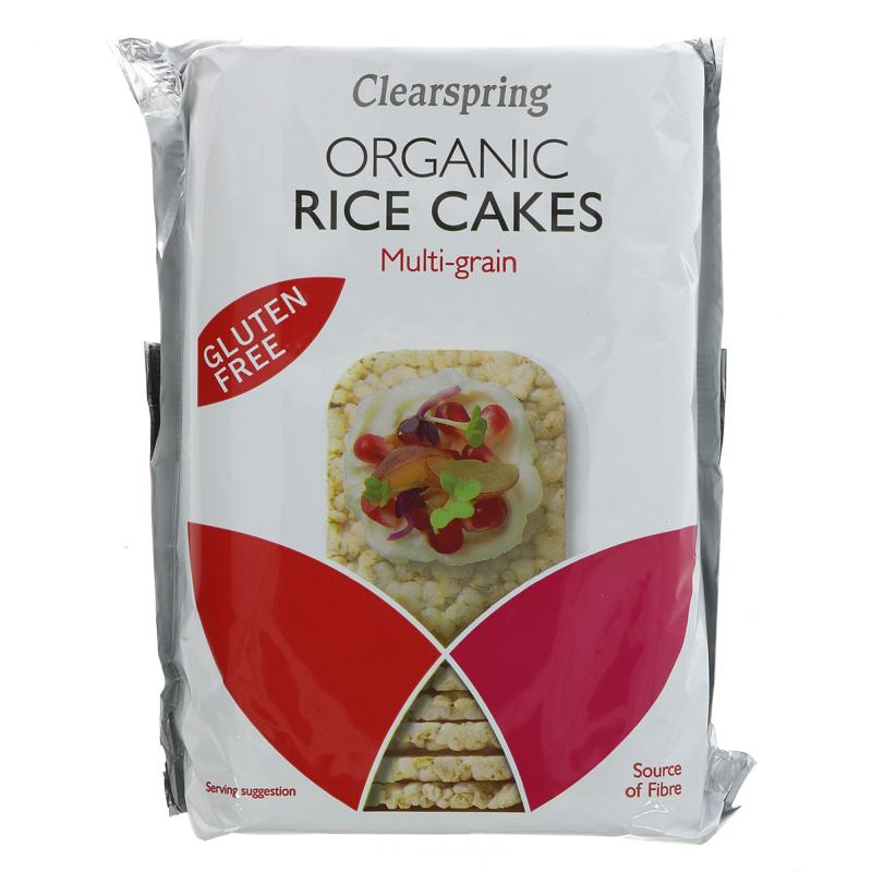 Clearspring Rice Cakes, 3 Grain