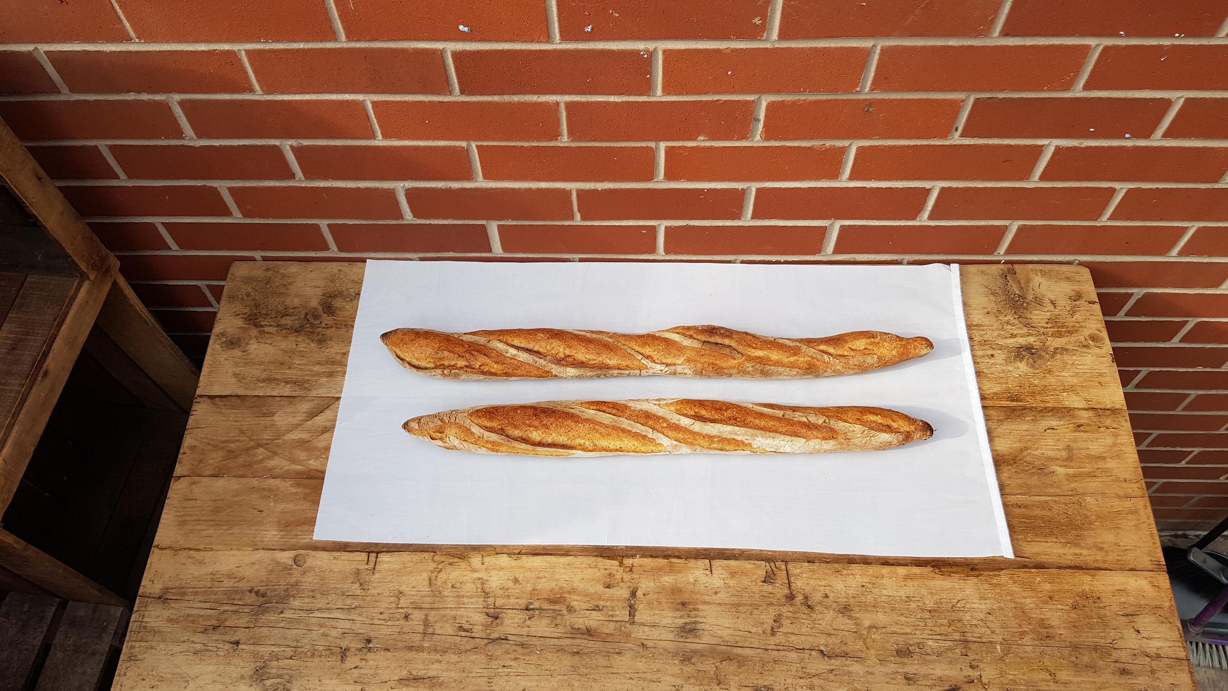 Baguette Andy's Bread