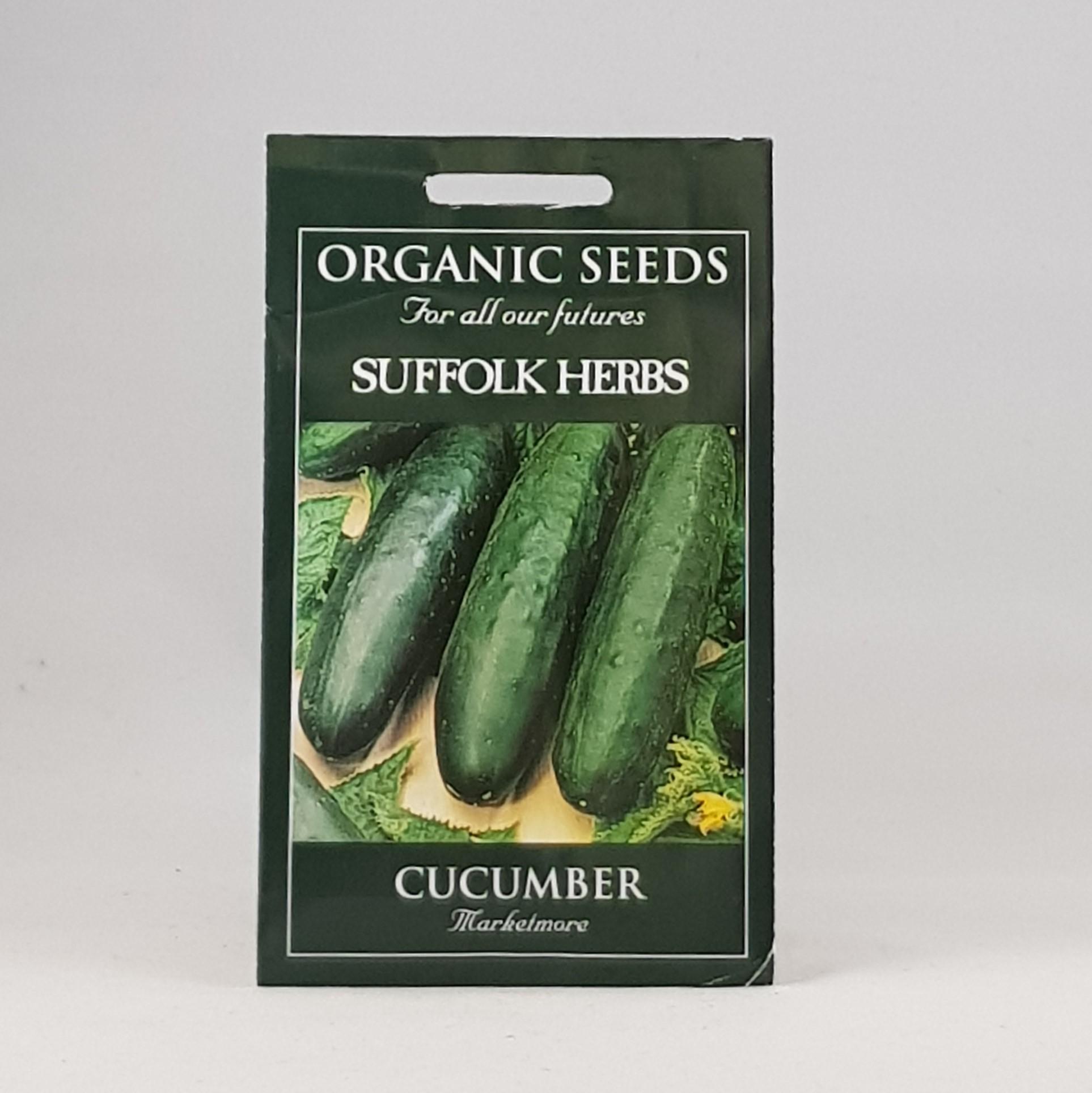 Cucumber Marketmore Seeds, Organic
