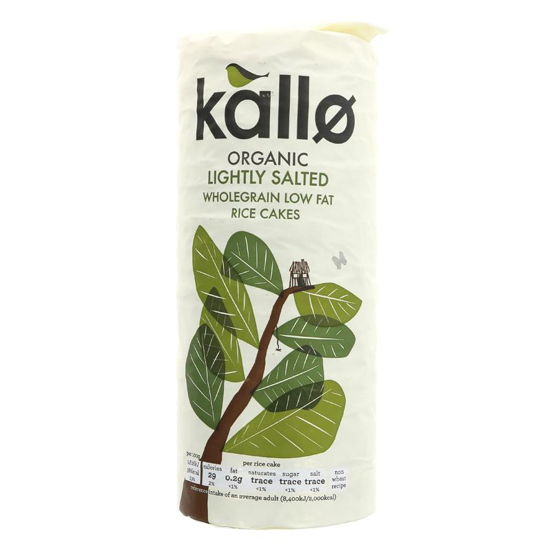 Kallo Original Wholegrain Rice Cakes
