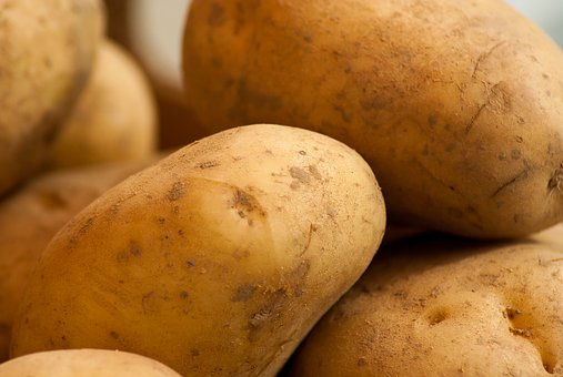 Fresh Organic Potatoes 500g