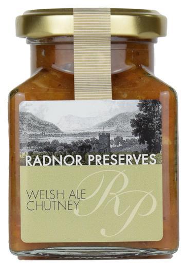 Radnor Preserves Welsh Ale Chutney