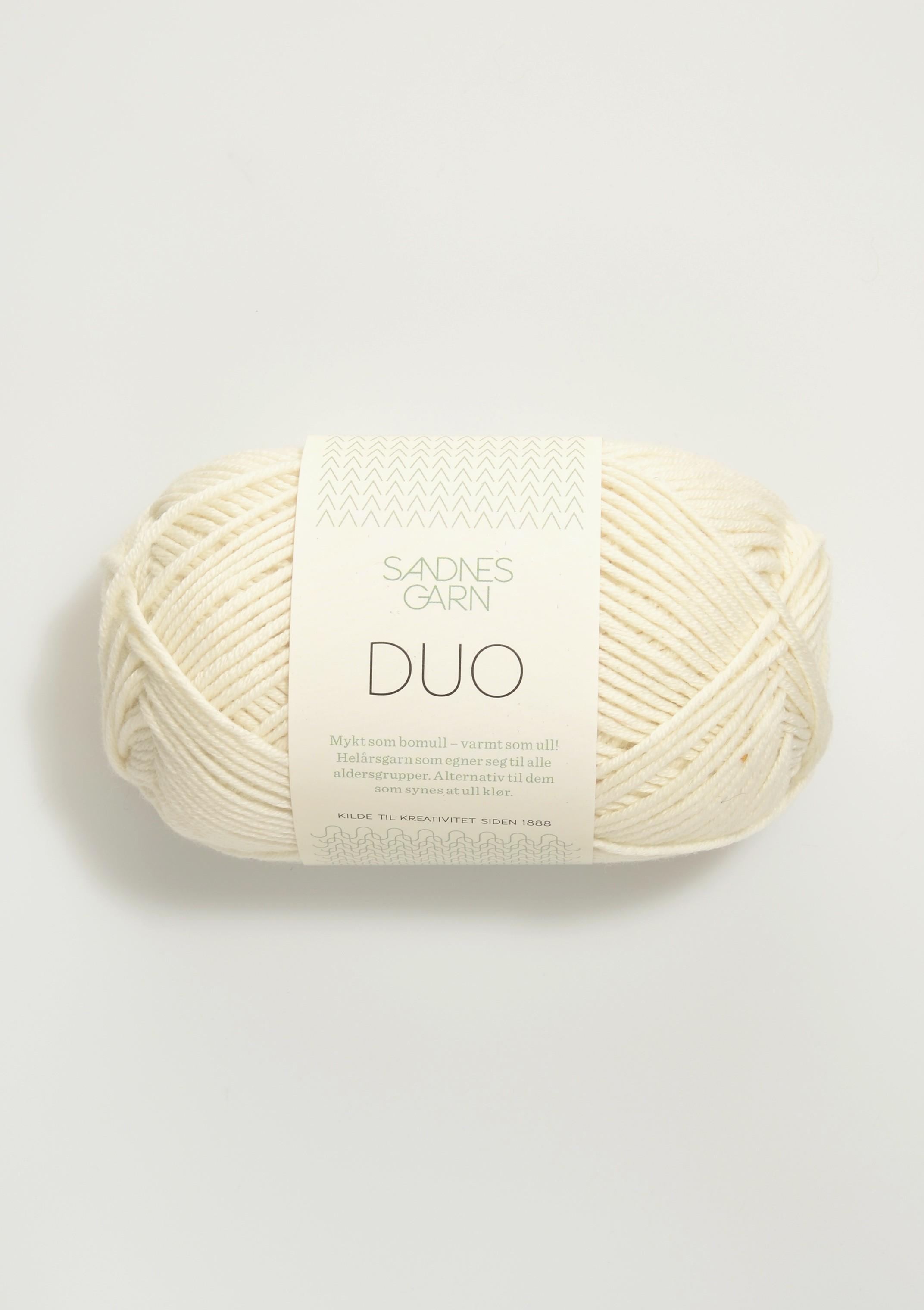 Sandnes 1002 hvit Duo