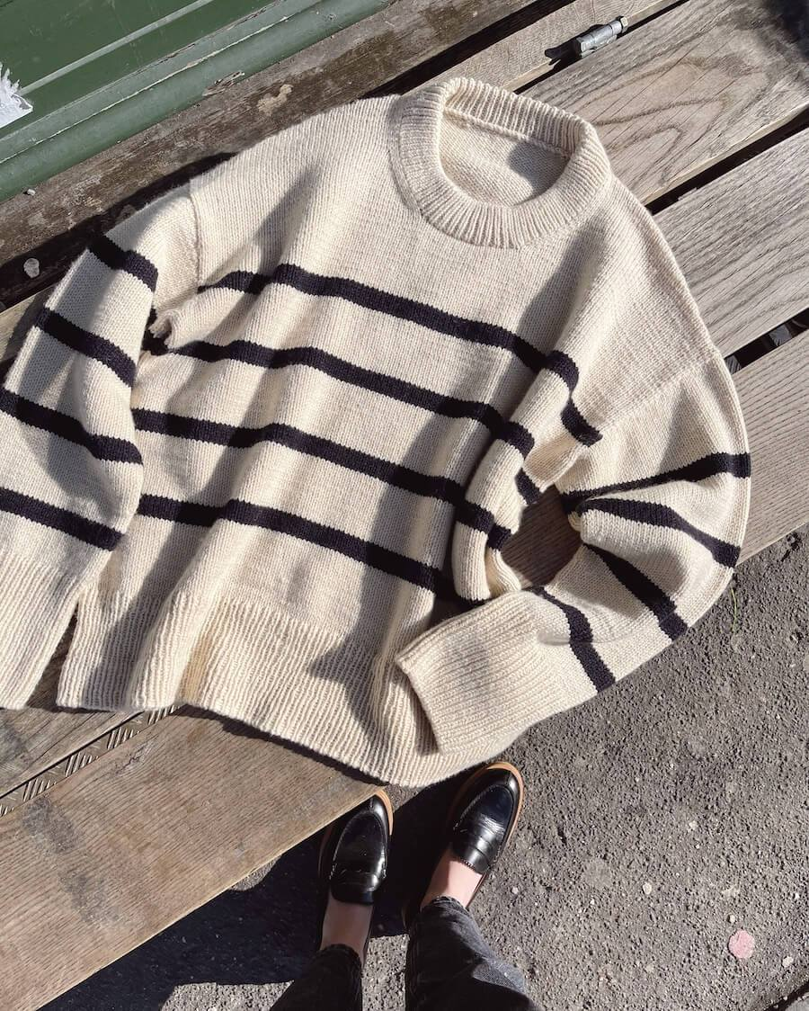 Marseille Sweater mønster (papirutgave)
