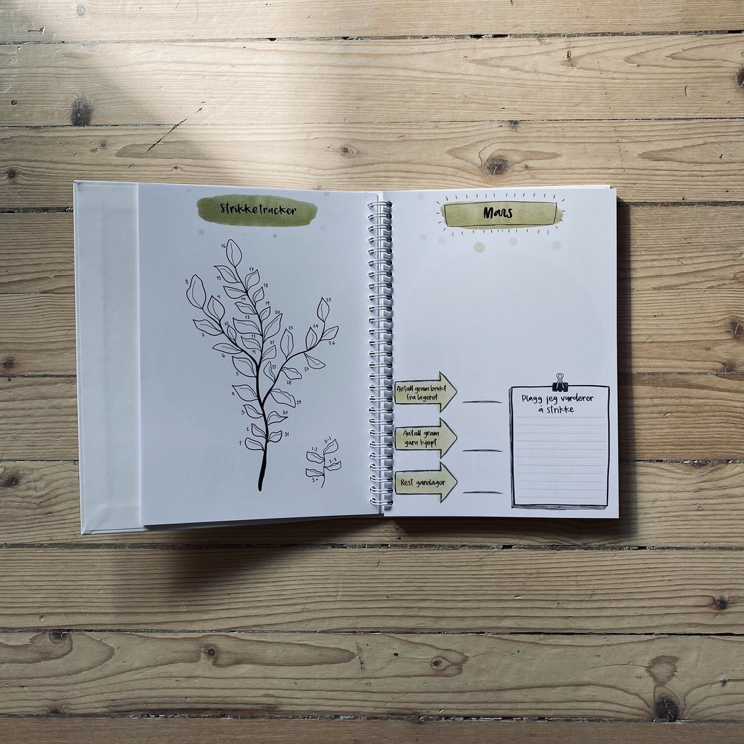The Bullet Journal for Knitters