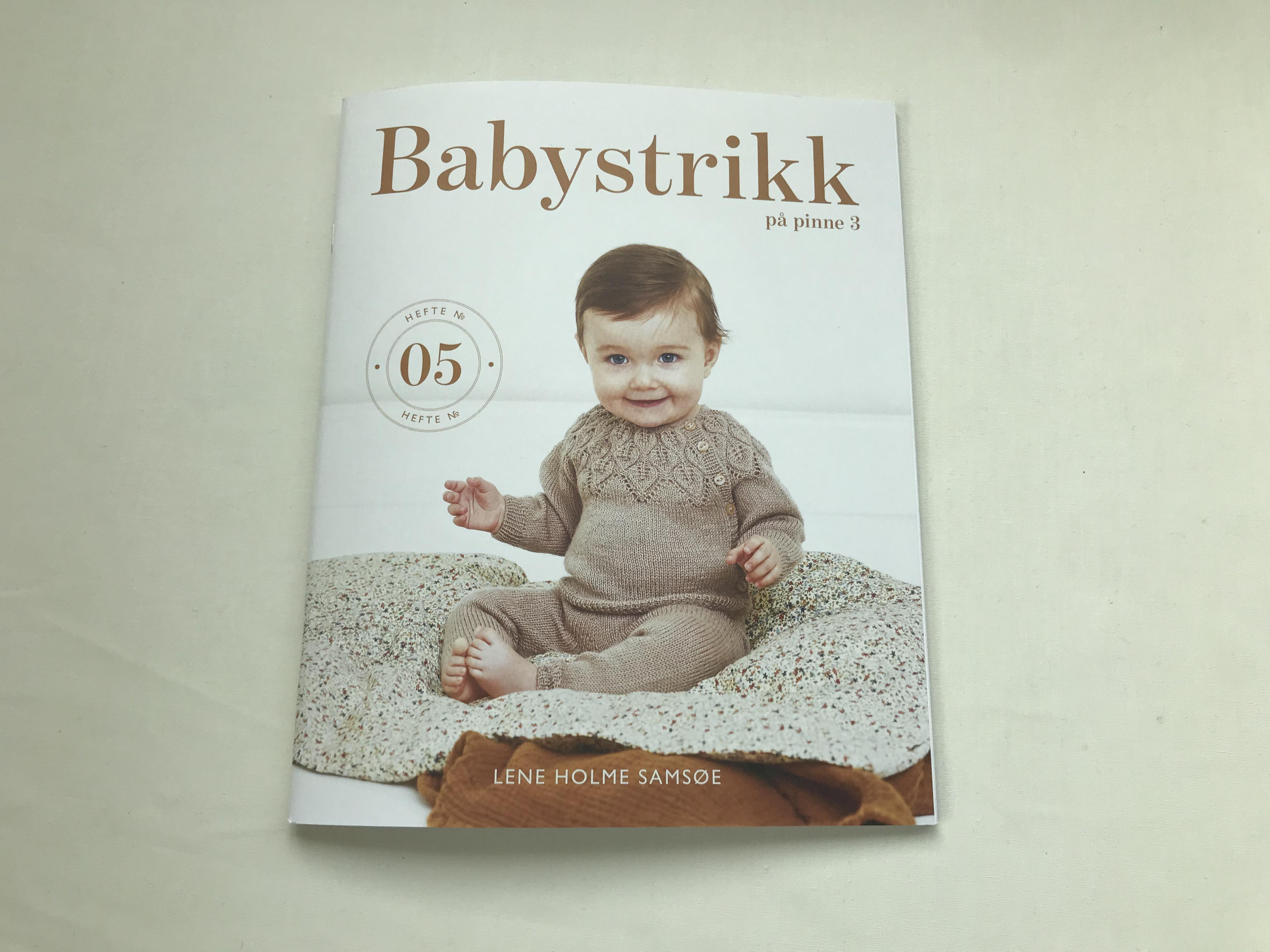 Hefte - Babystrikk på pinne 3 hefte no 5