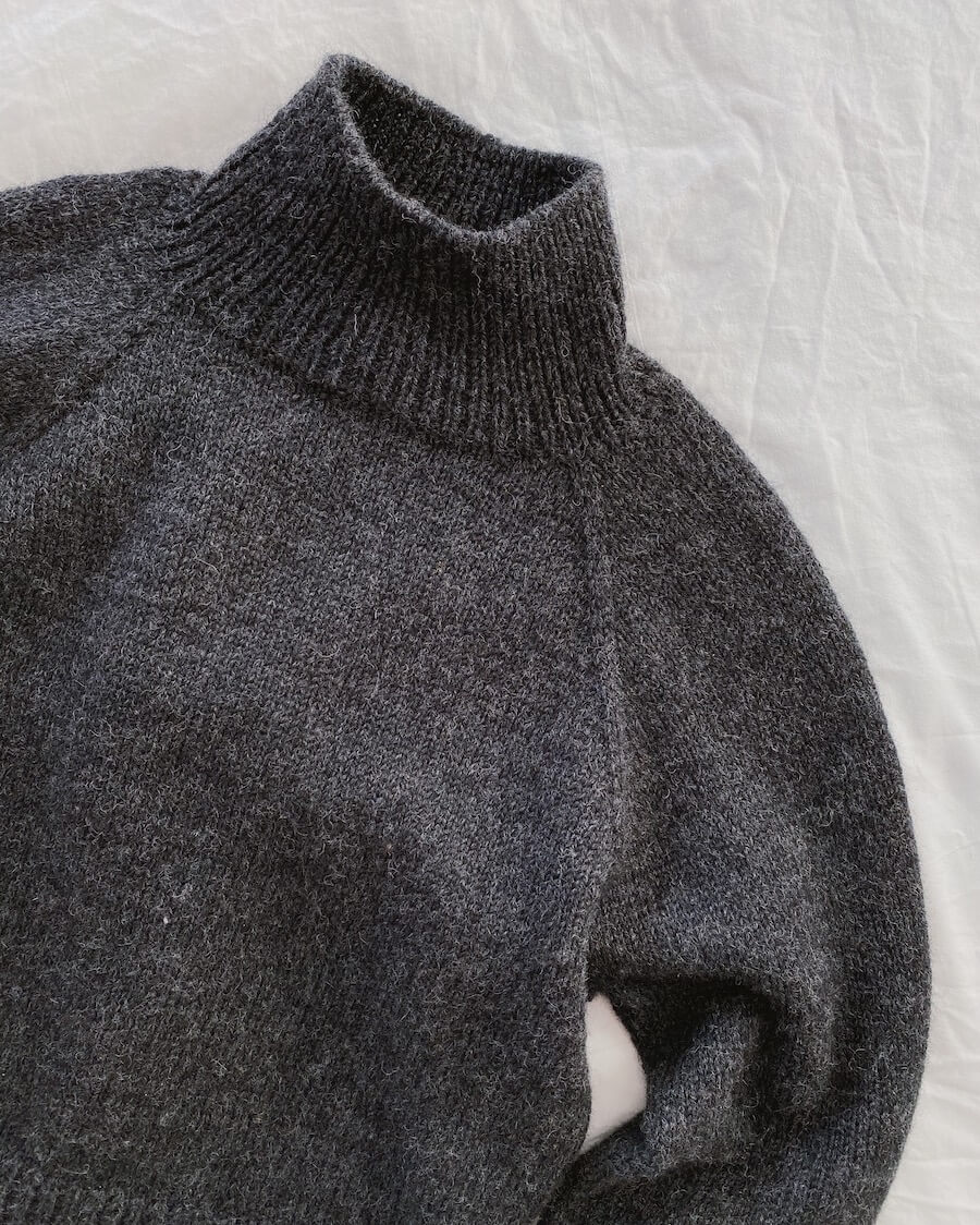 Louvre Sweater mønster papirutgave