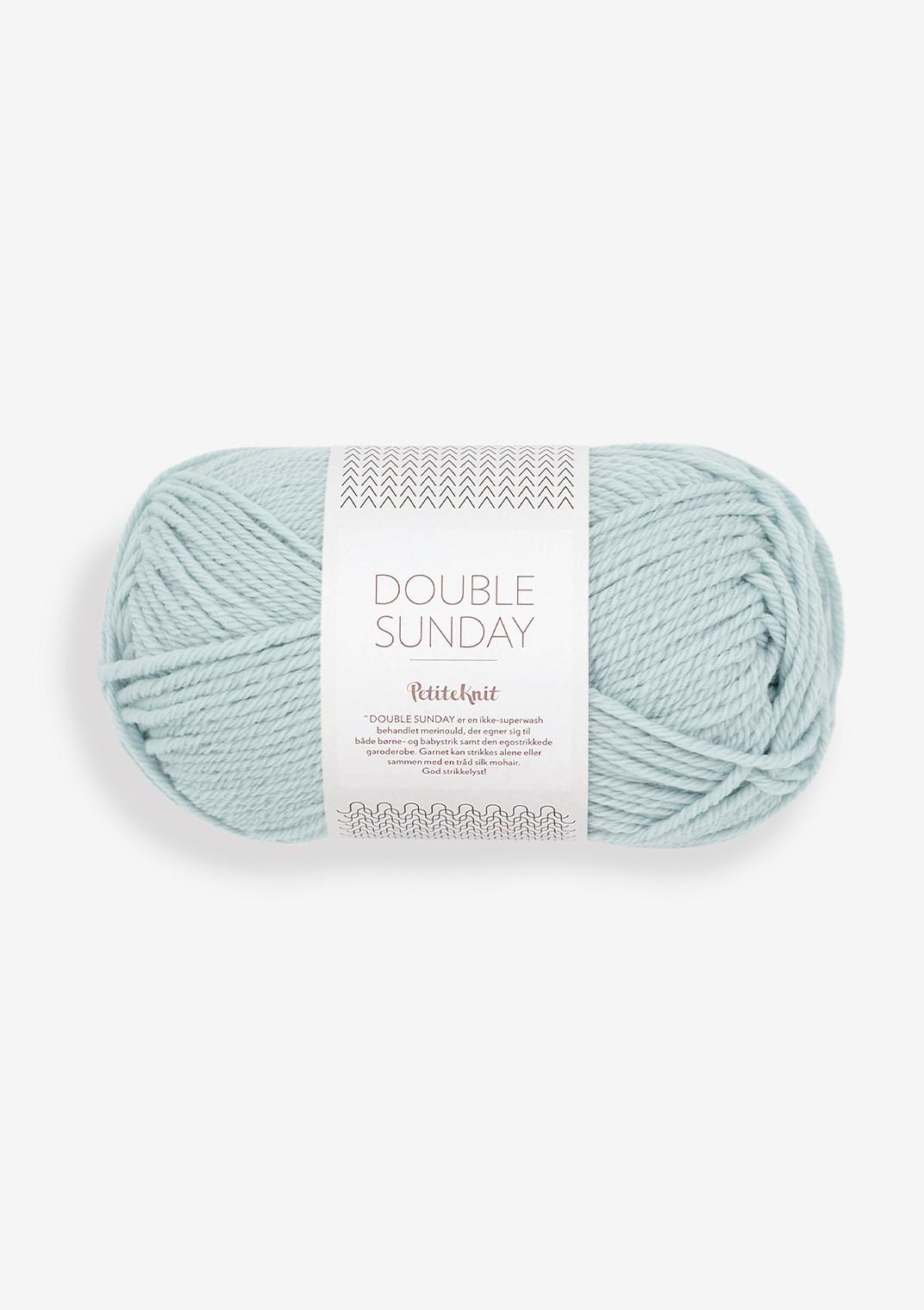 5830 pale blue Double Sunday PetiteKnit