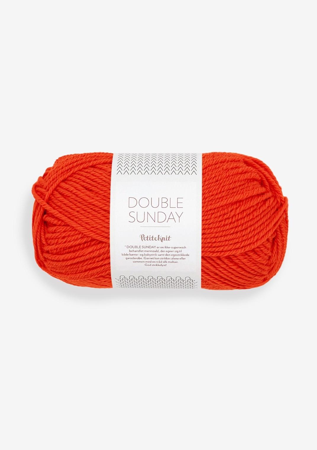 3819 that orange feeling Double Sunday PetiteKnit