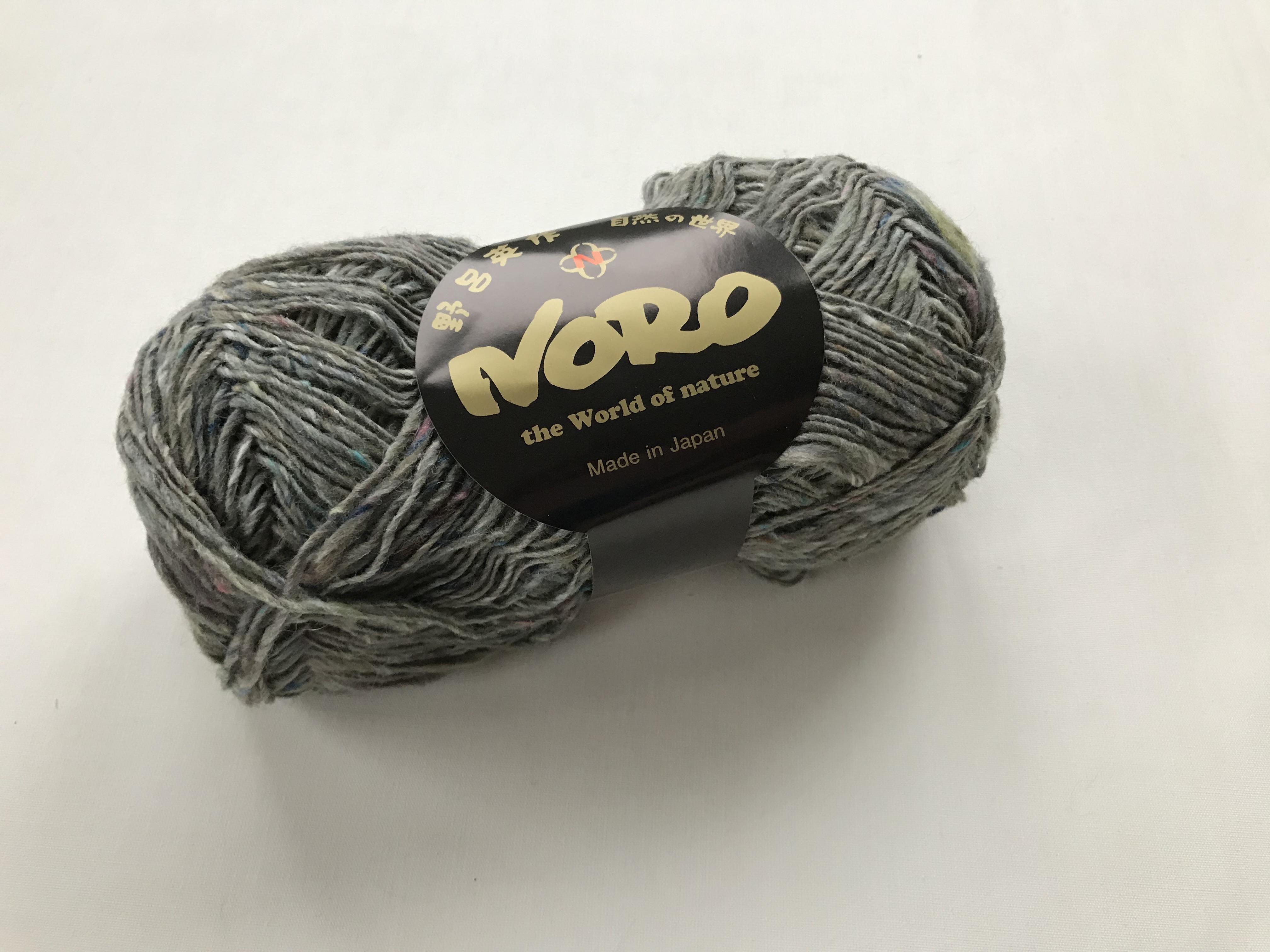 #S68 Shiroi NORO Silk Garden Sock Solo