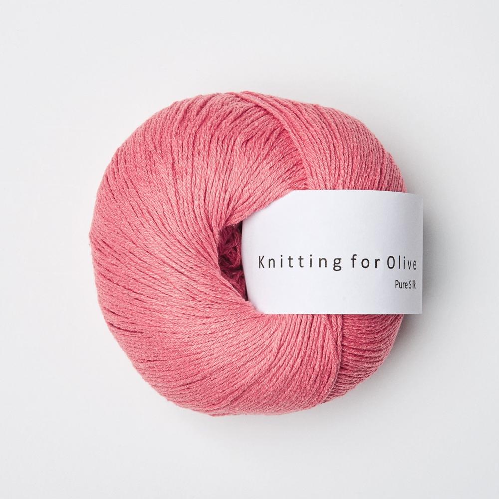 KFO Pure Silk Hindbærpink