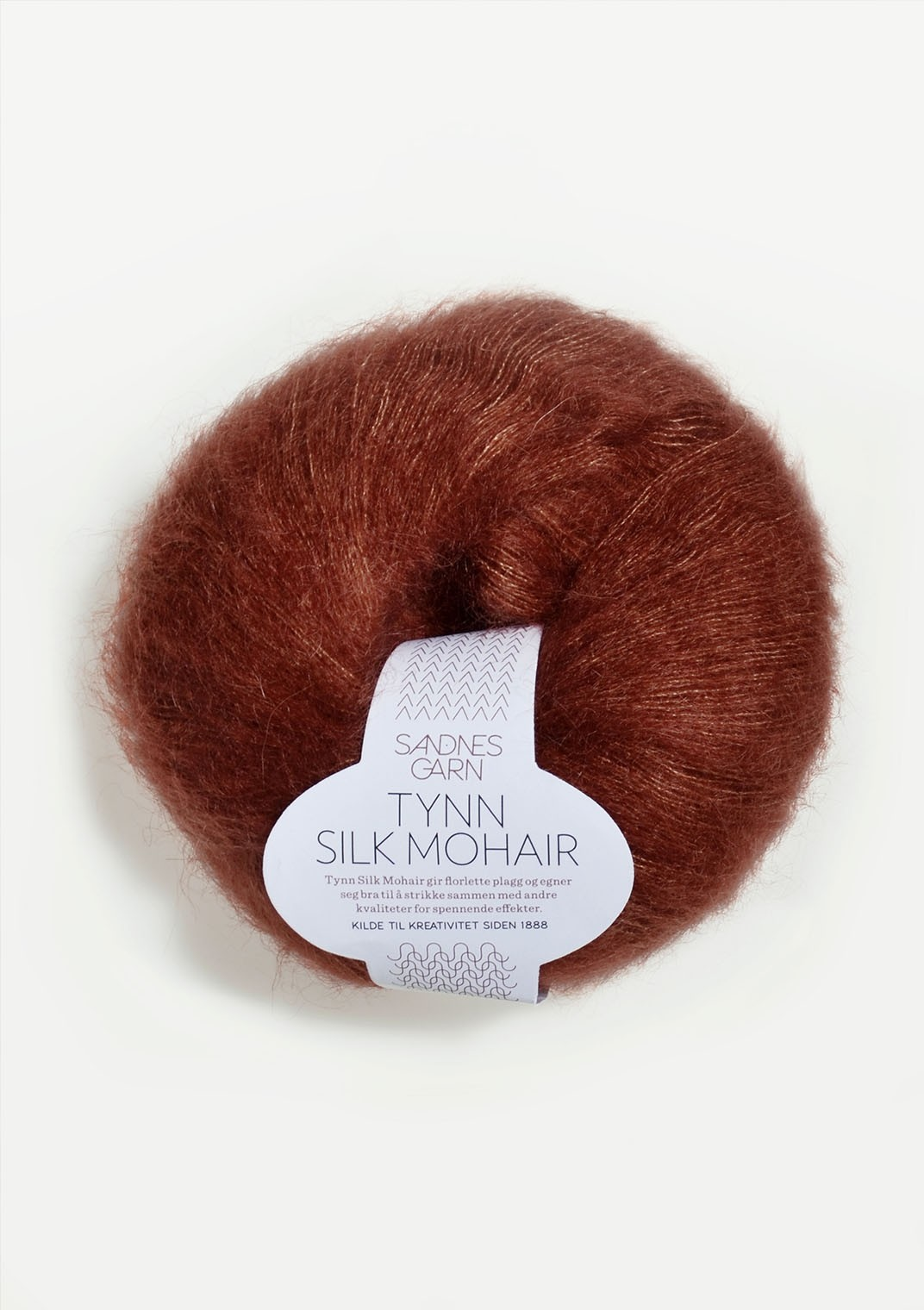 Sandnes 3554 rust Tynn Silk Mohair