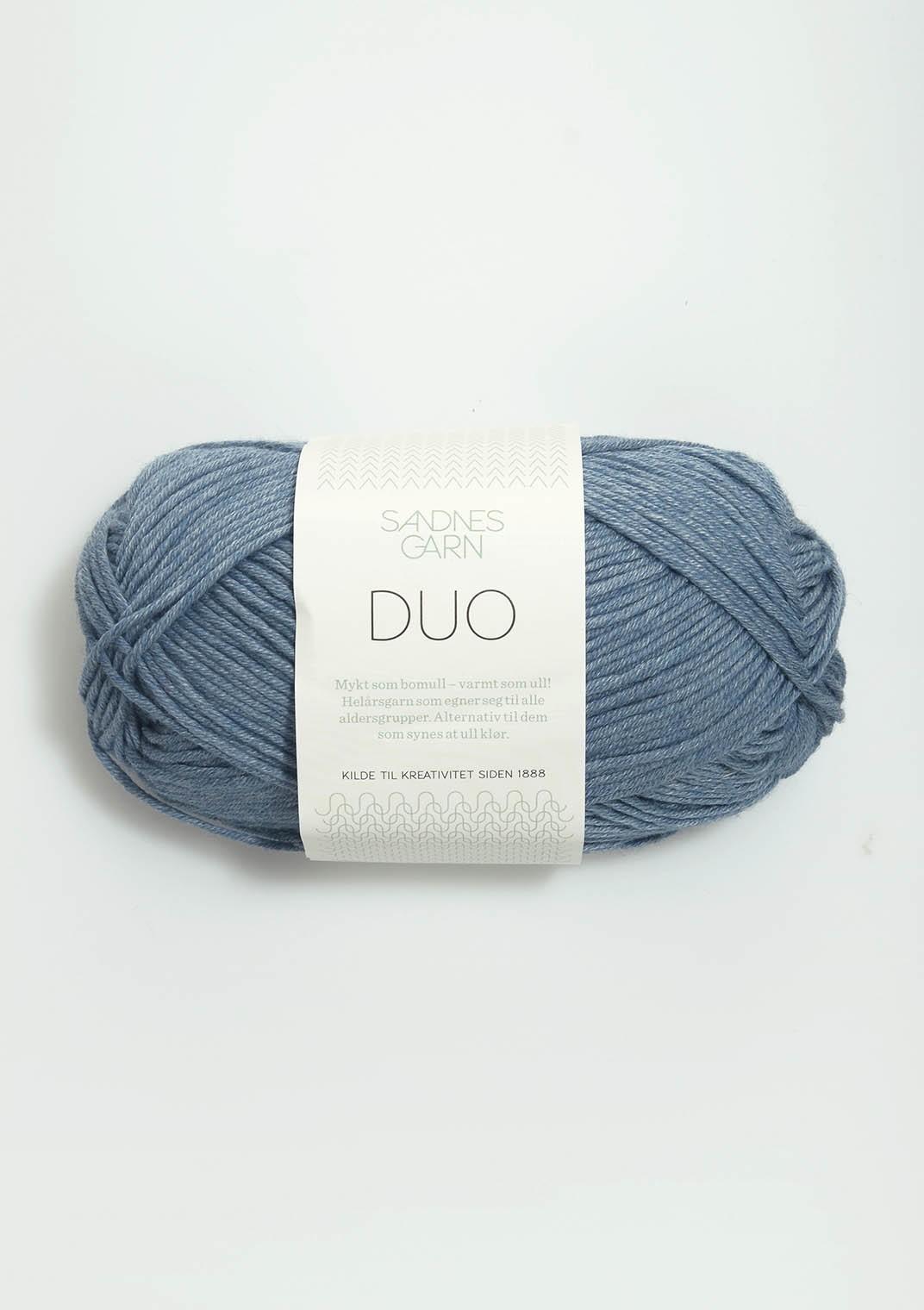 Sandnes 6033 jeansblå DUO
