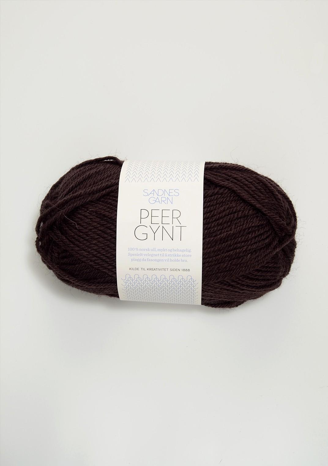 SANDNES 3082 brun Peer Gynt