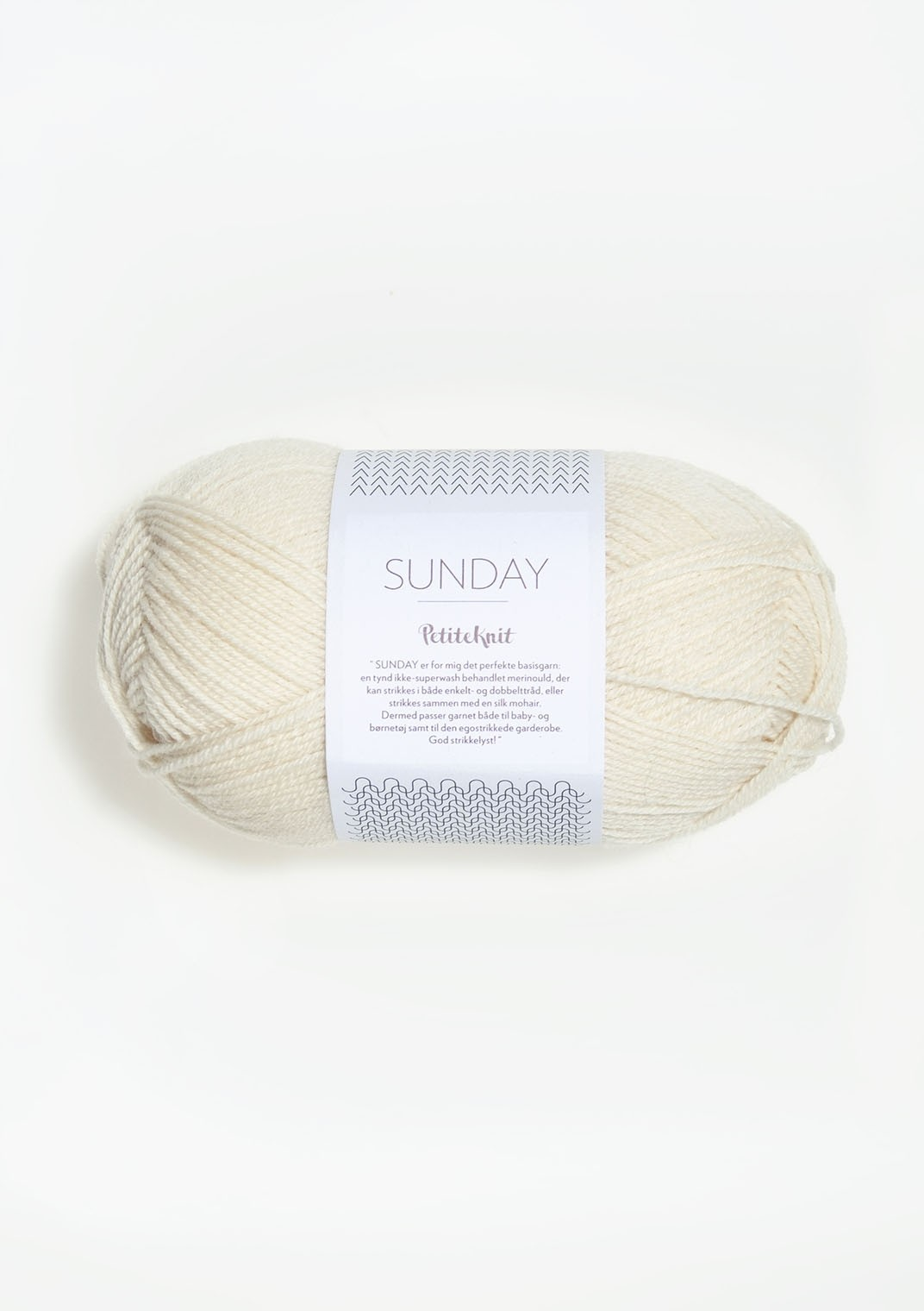 Sandnes 1012 wipped cream Sunday PetiteKnit