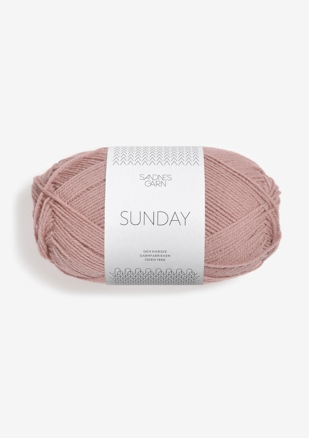 SANDNES 4332 støvet rose Sunday