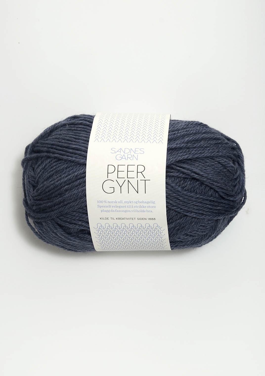 SANDNES 6072 blågrå melert Peer Gynt