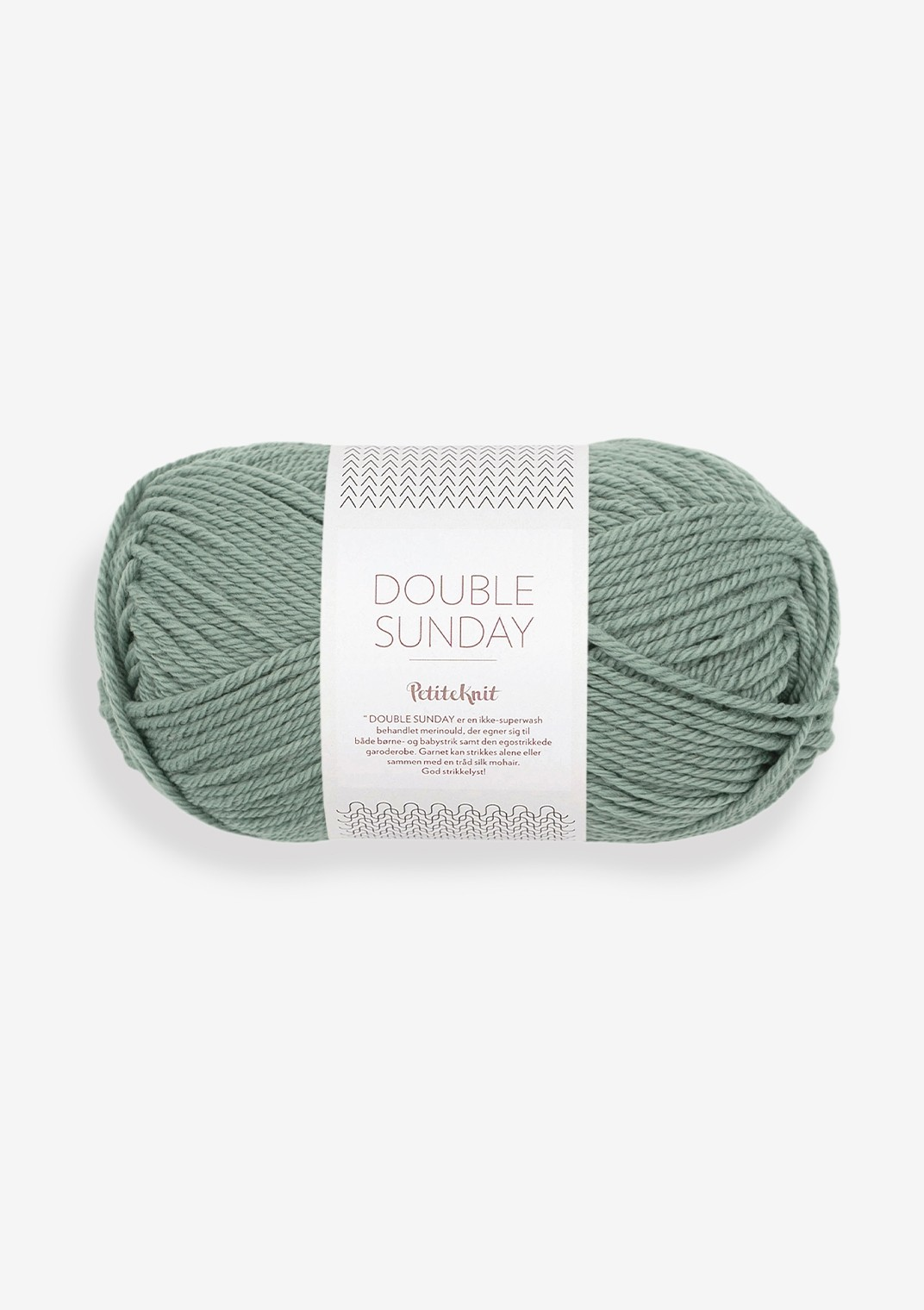 8051 eucalyptus Double Sunday PetiteKnit
