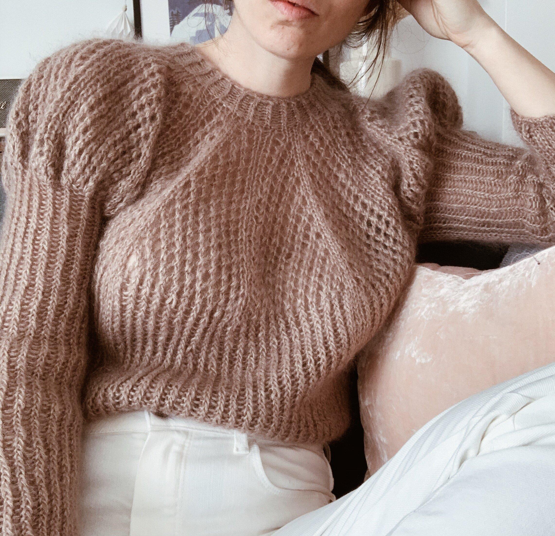 Mønster Frida sweater GregoriaFibers