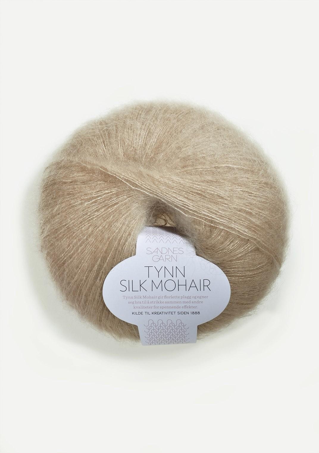 Sandnes 3021 lys beige Tynn Silk Mohair