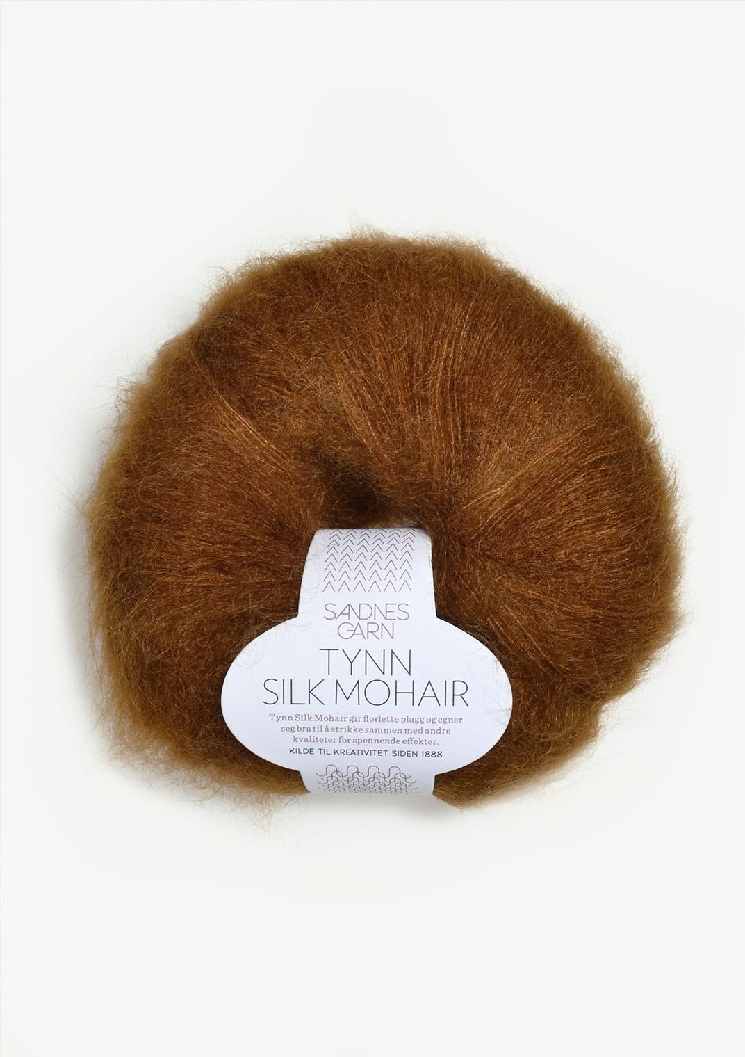 Sandnes 2755 Gyllenbrun Tynn Silk Mohair