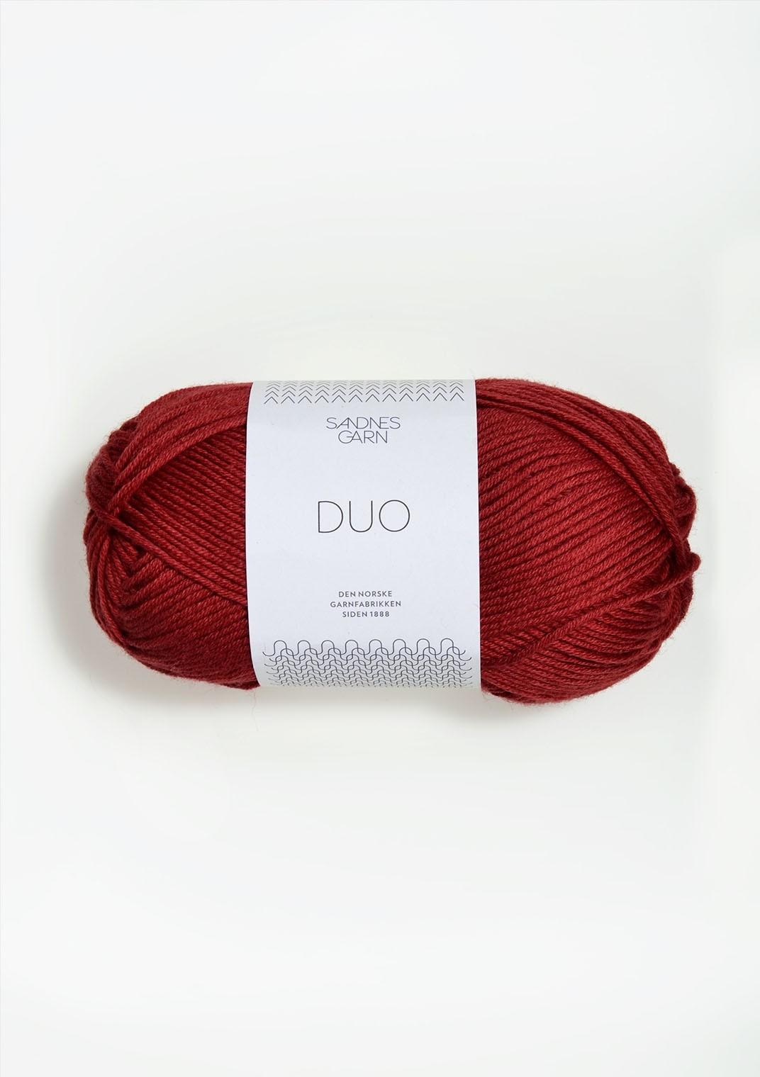Sandnes 4236 dyp rød DUO