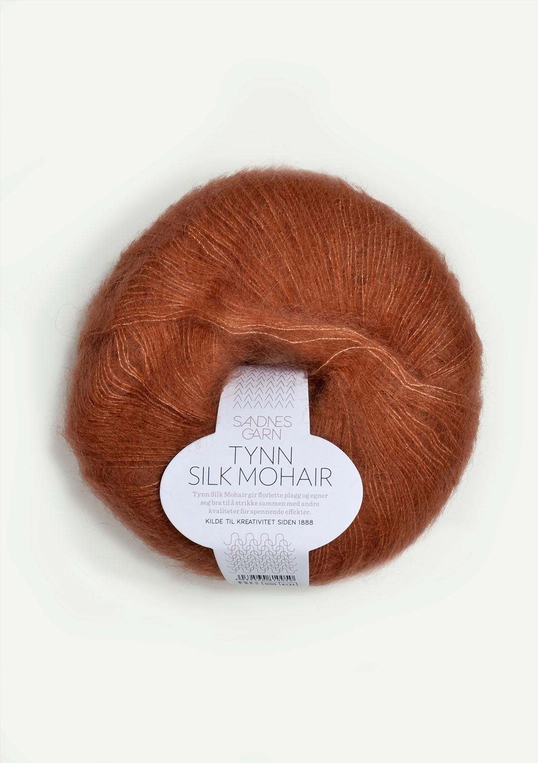 Sandnes 3044 gresskar Tynn Silk Mohair