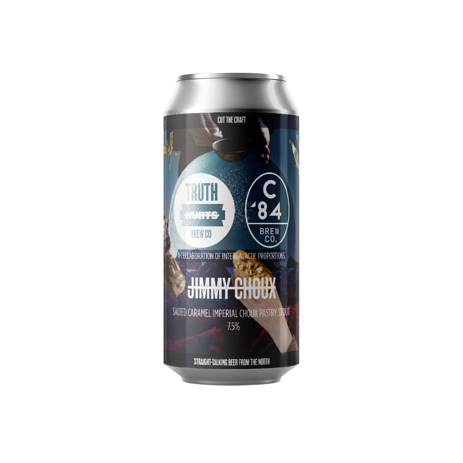 Truth Hurts Jimmy Choux // Salted Caramel Choux Pastry Stout 7.5% 440ml Can