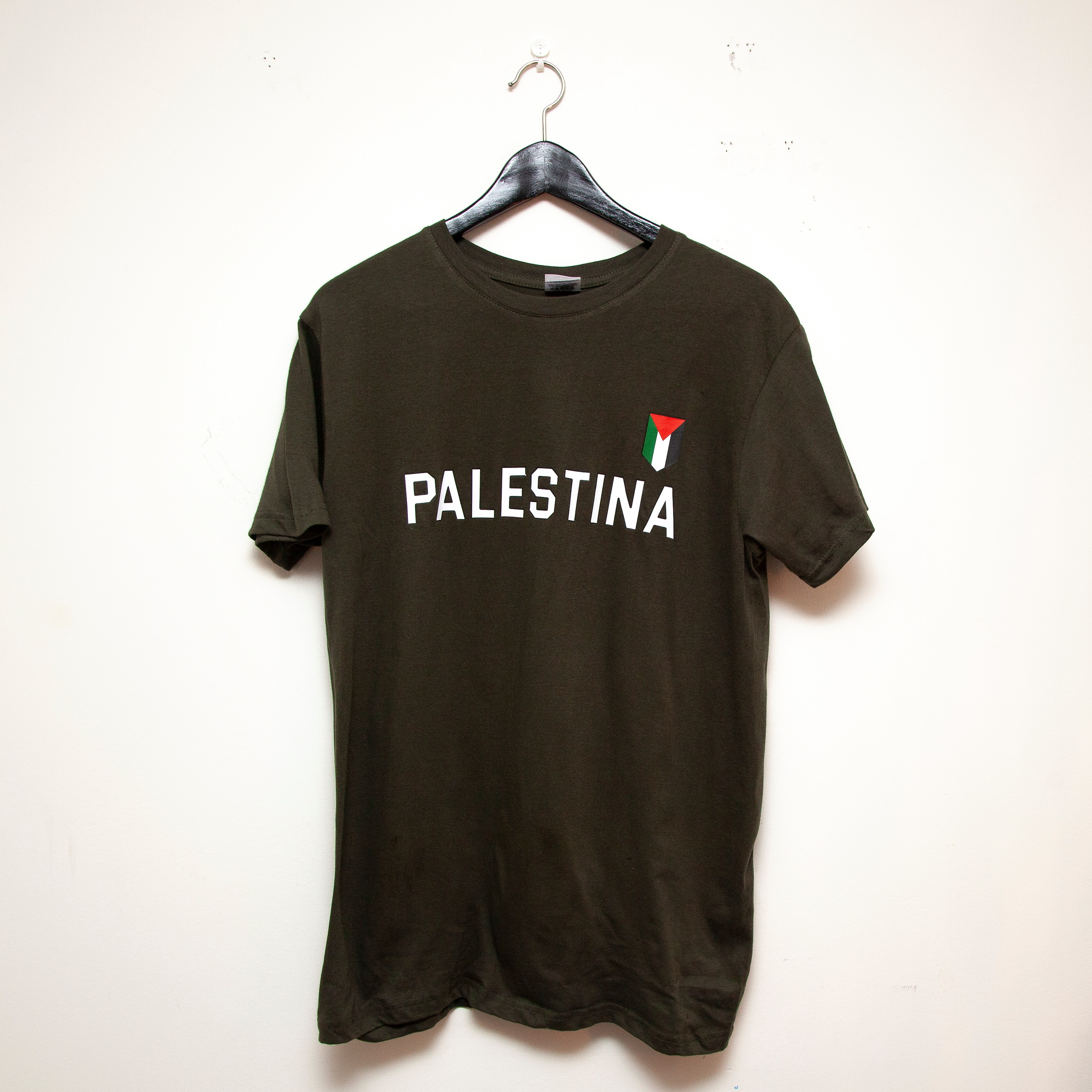 T-skjorte - Intifada, olivengrønn