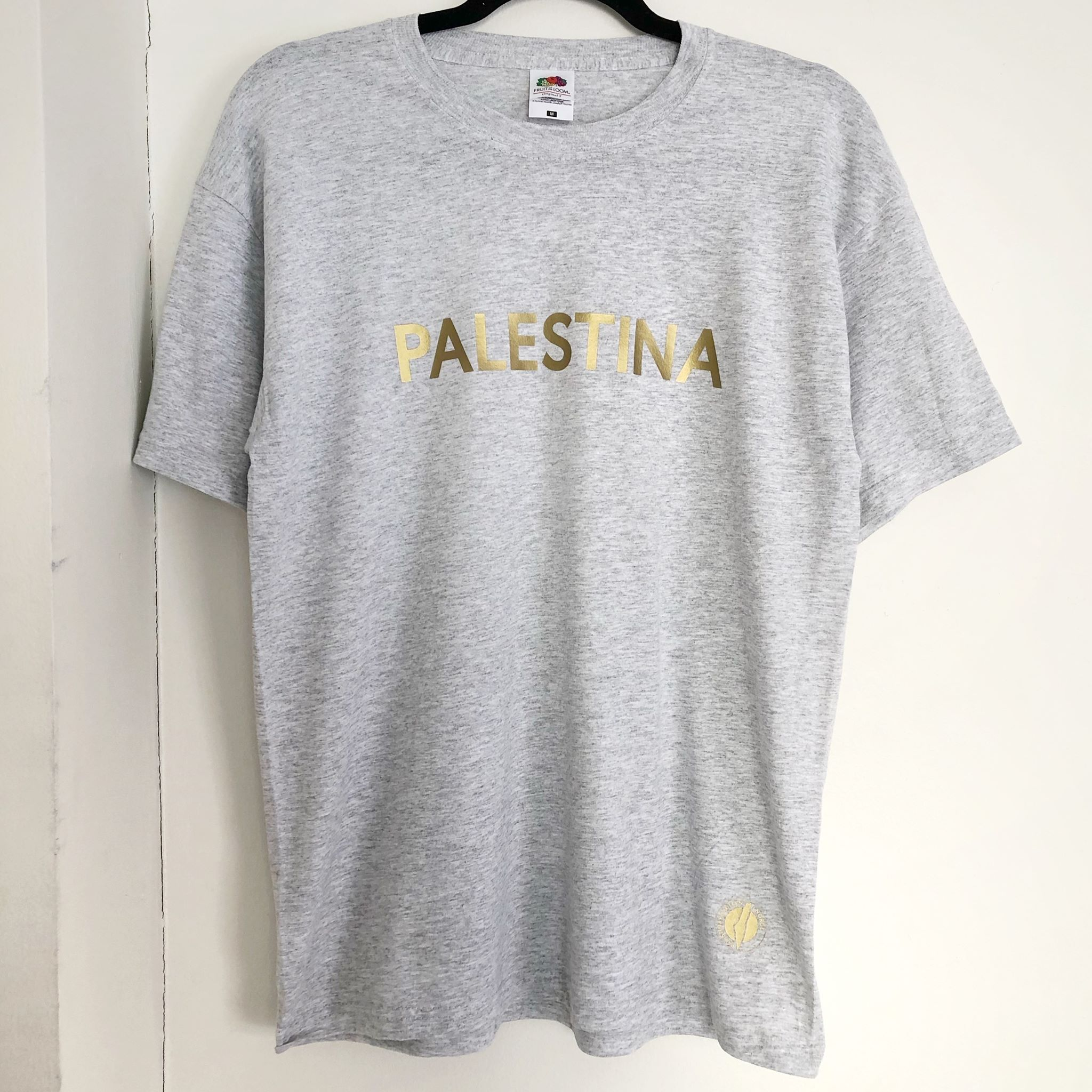 T-skjorte PALESTINA, grå