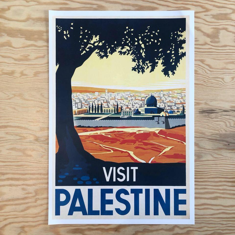 Plakat - Visit Palestine