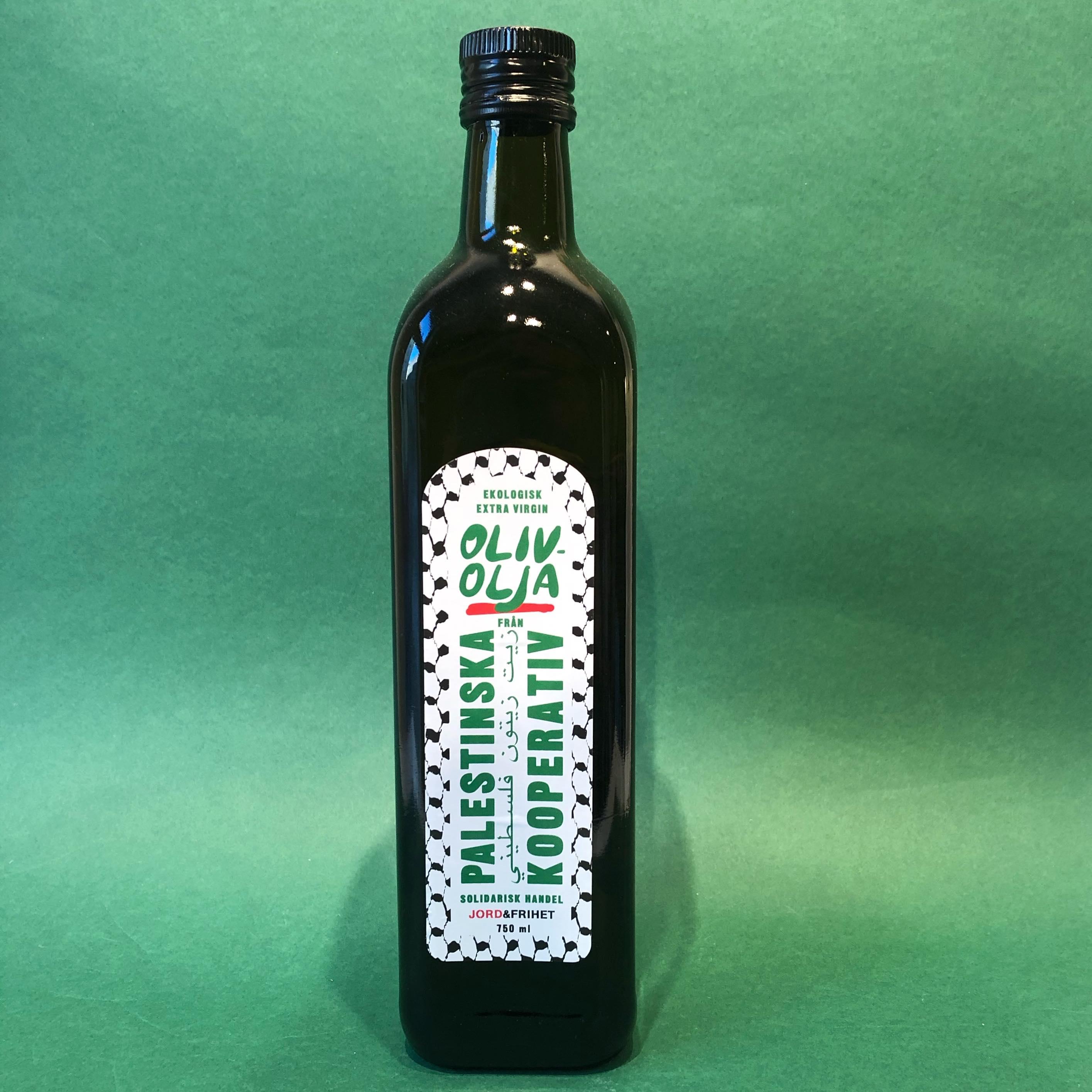 Olivenolje, Palestinska Kooperativ