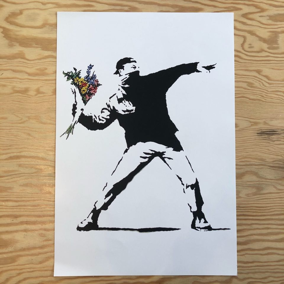 Plakat - The Flower Thrower
