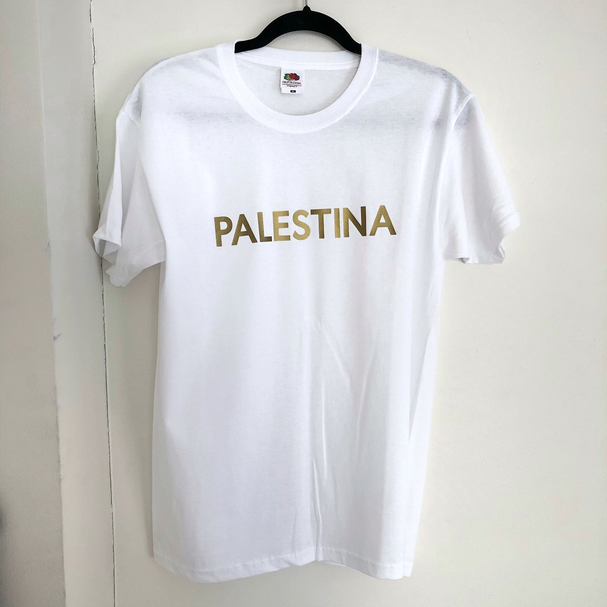 T-skjorte - PALESTINA, hvit