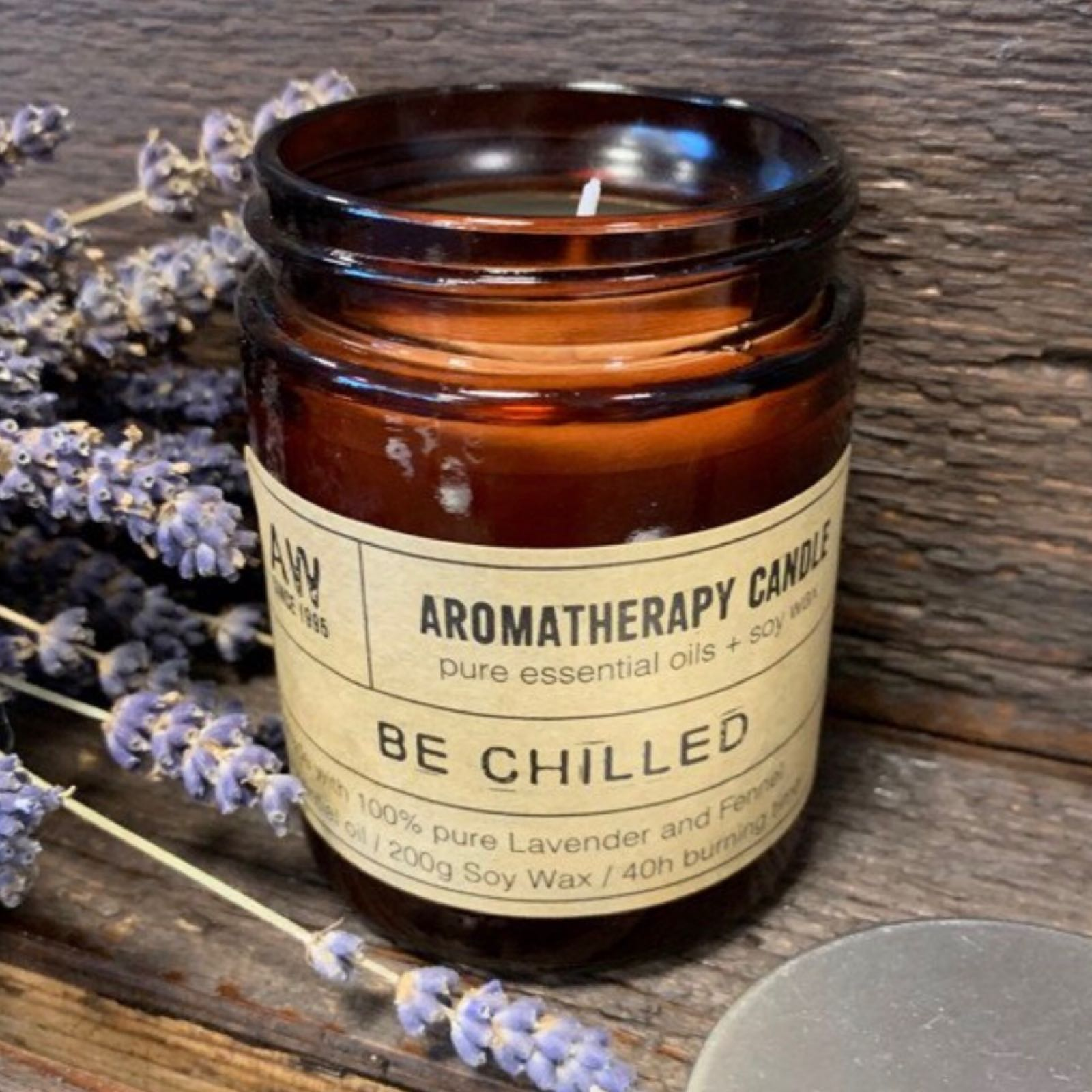'Be Chilled' Aromatherapy Candle
