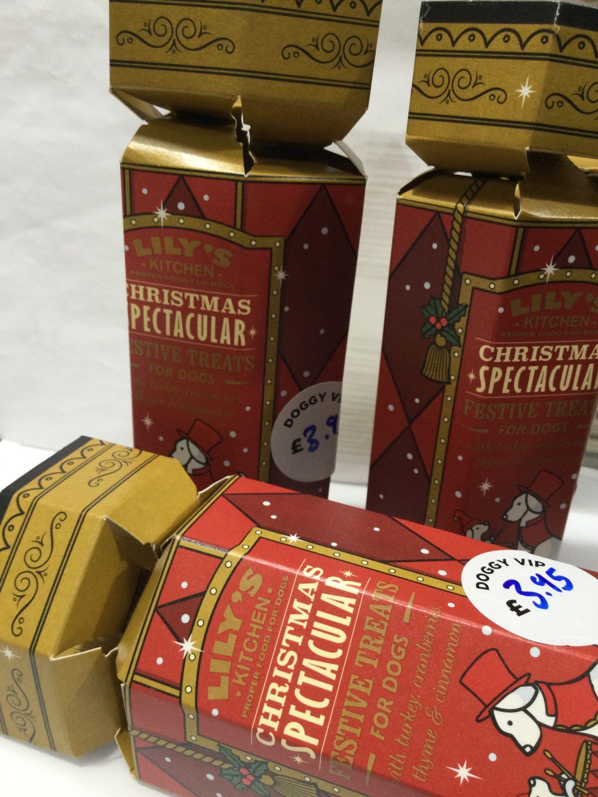 Lily's Kitchen- festive treats crackers