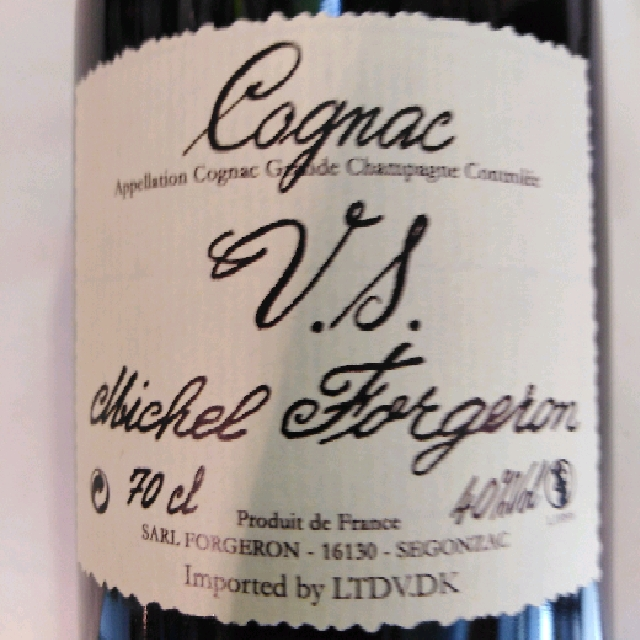 Cognac VS - Michel Forgeron