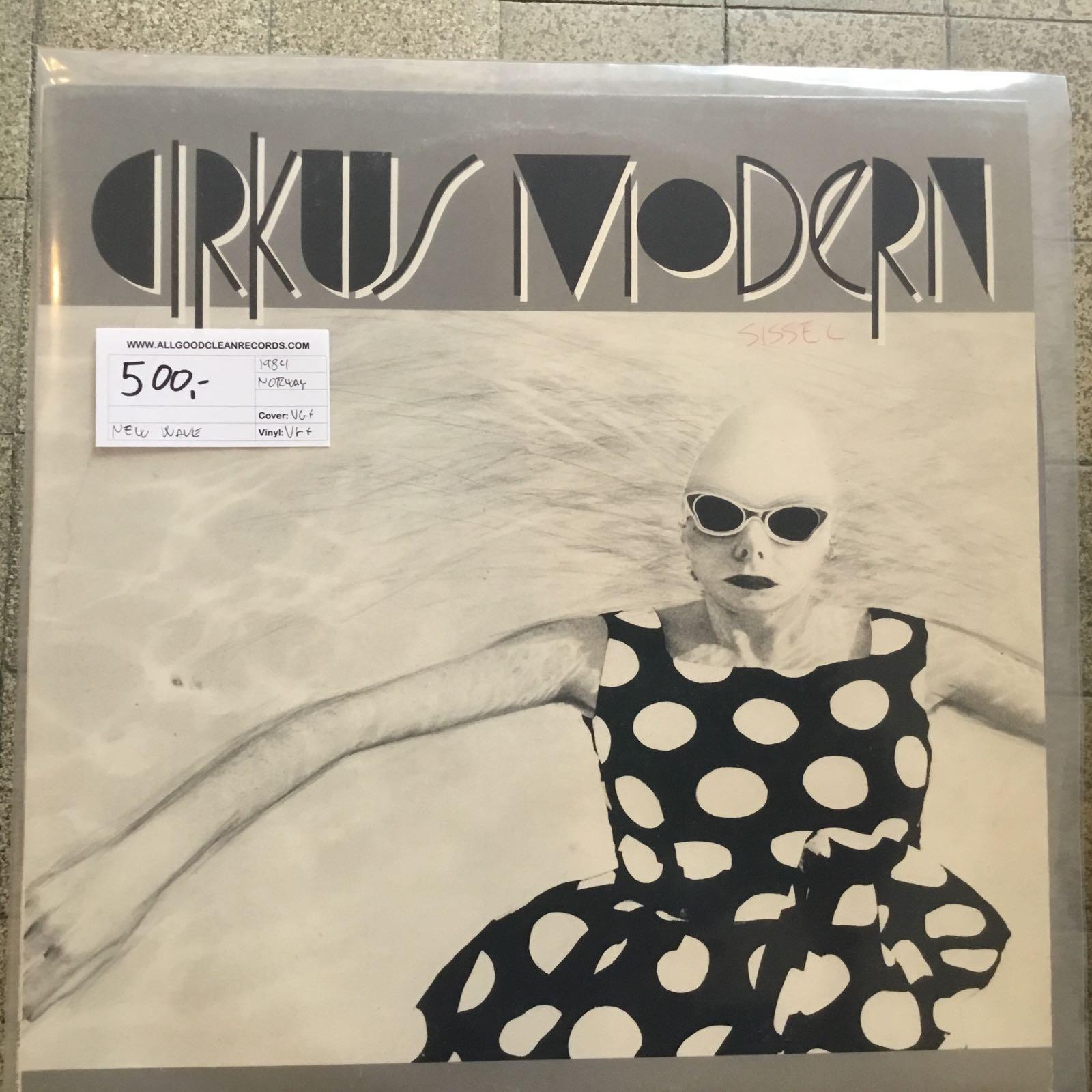 Cirkus Modern – Cirkus Modern [LP] (2. hand)